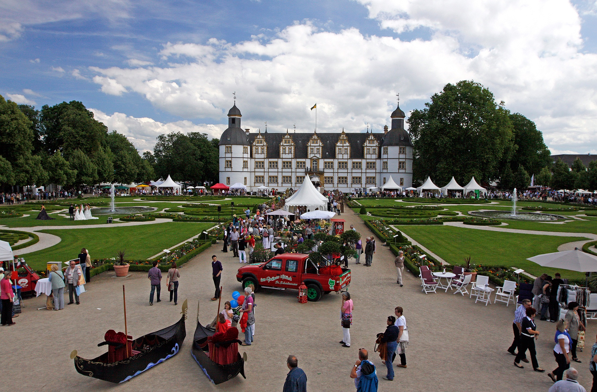 Neuhäuser Gartentage im Neuhäuser Schlosspark