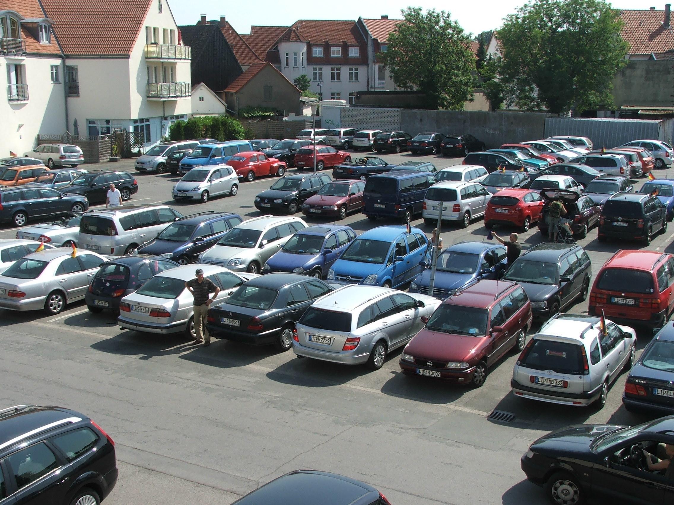 Parkplatz City-Center