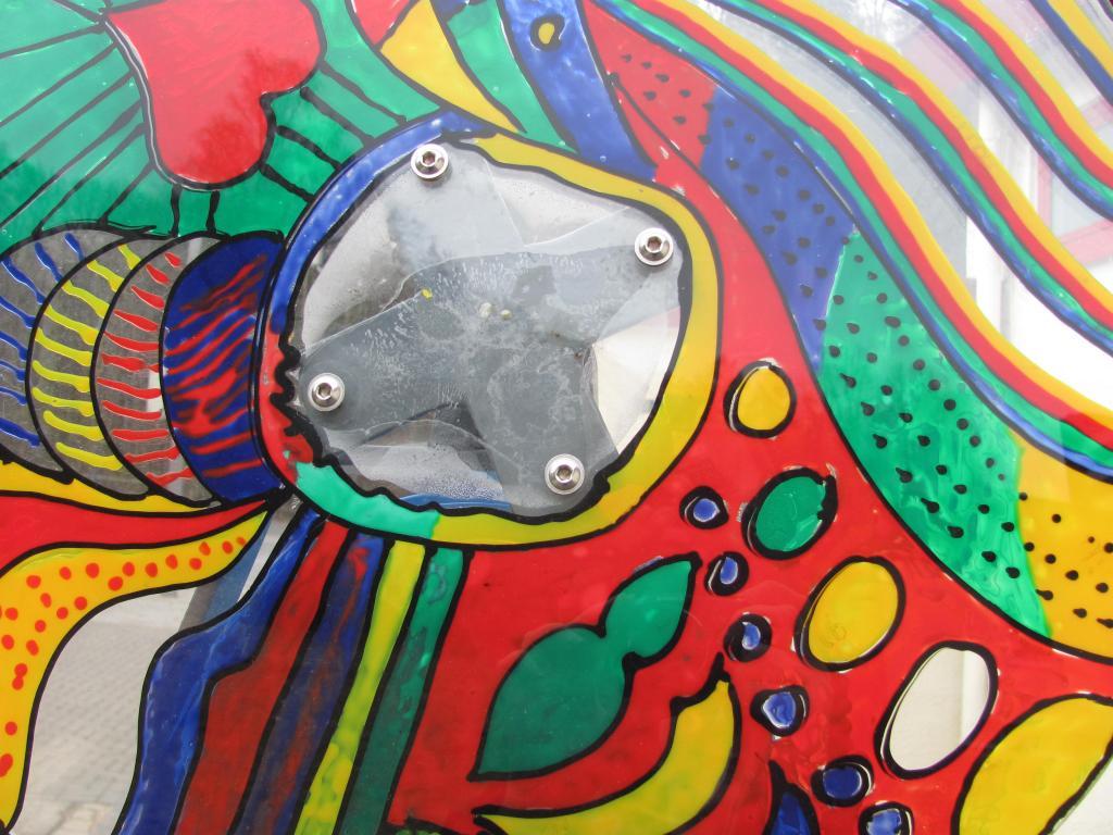 Drehscheibenkaleidoskop