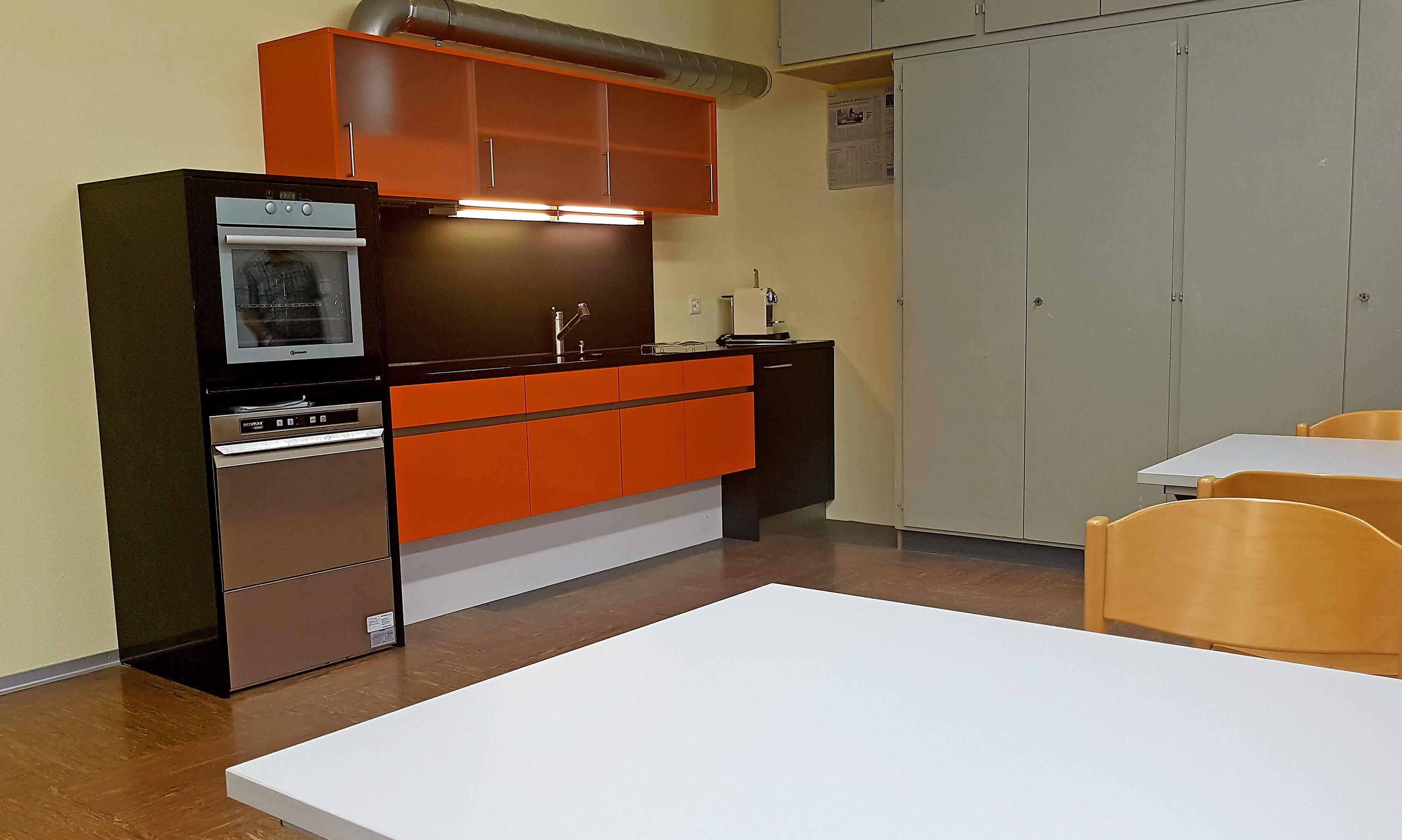 Neue Küche im Eventlokal