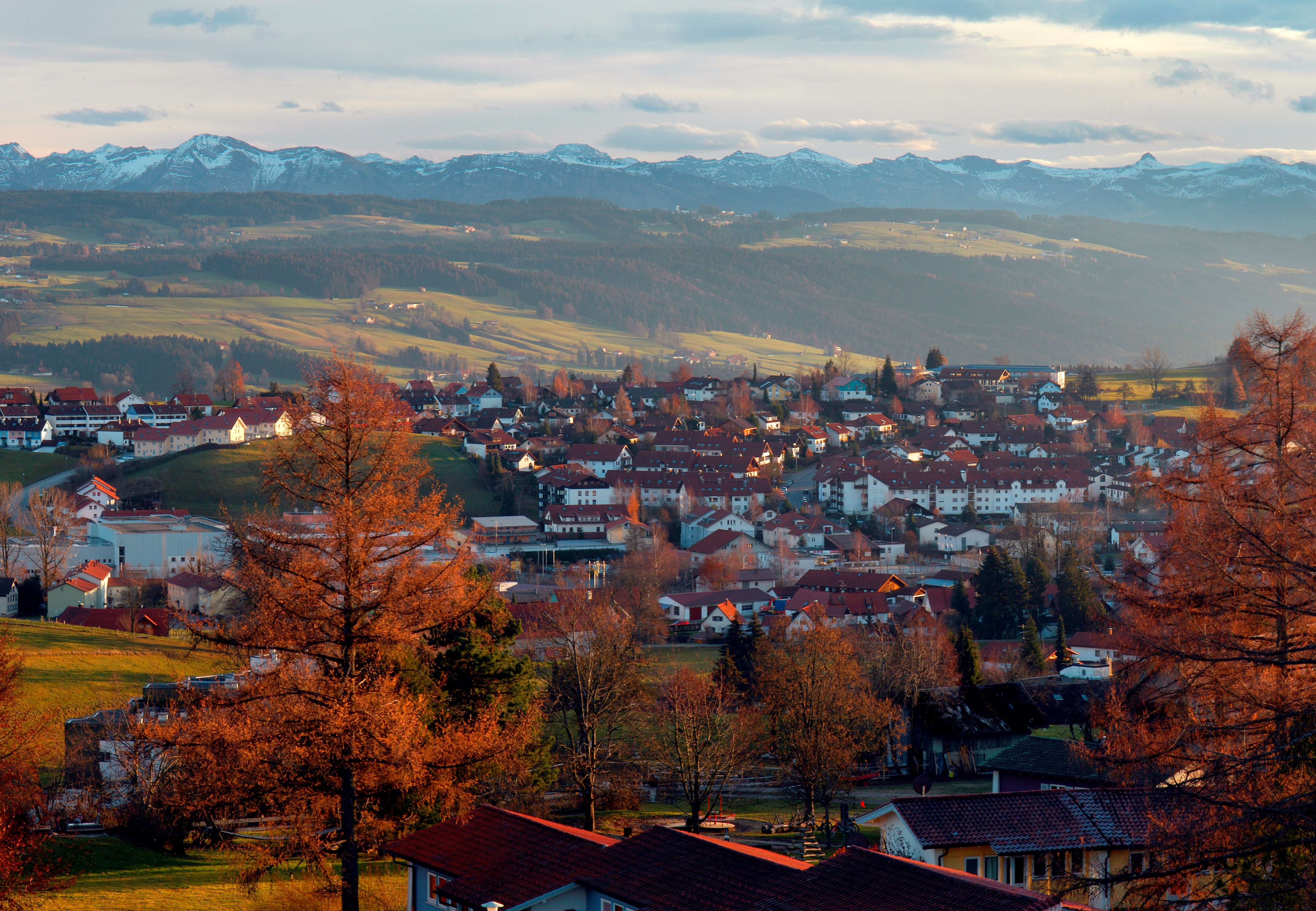 Panoramablick vom Nadenberg
