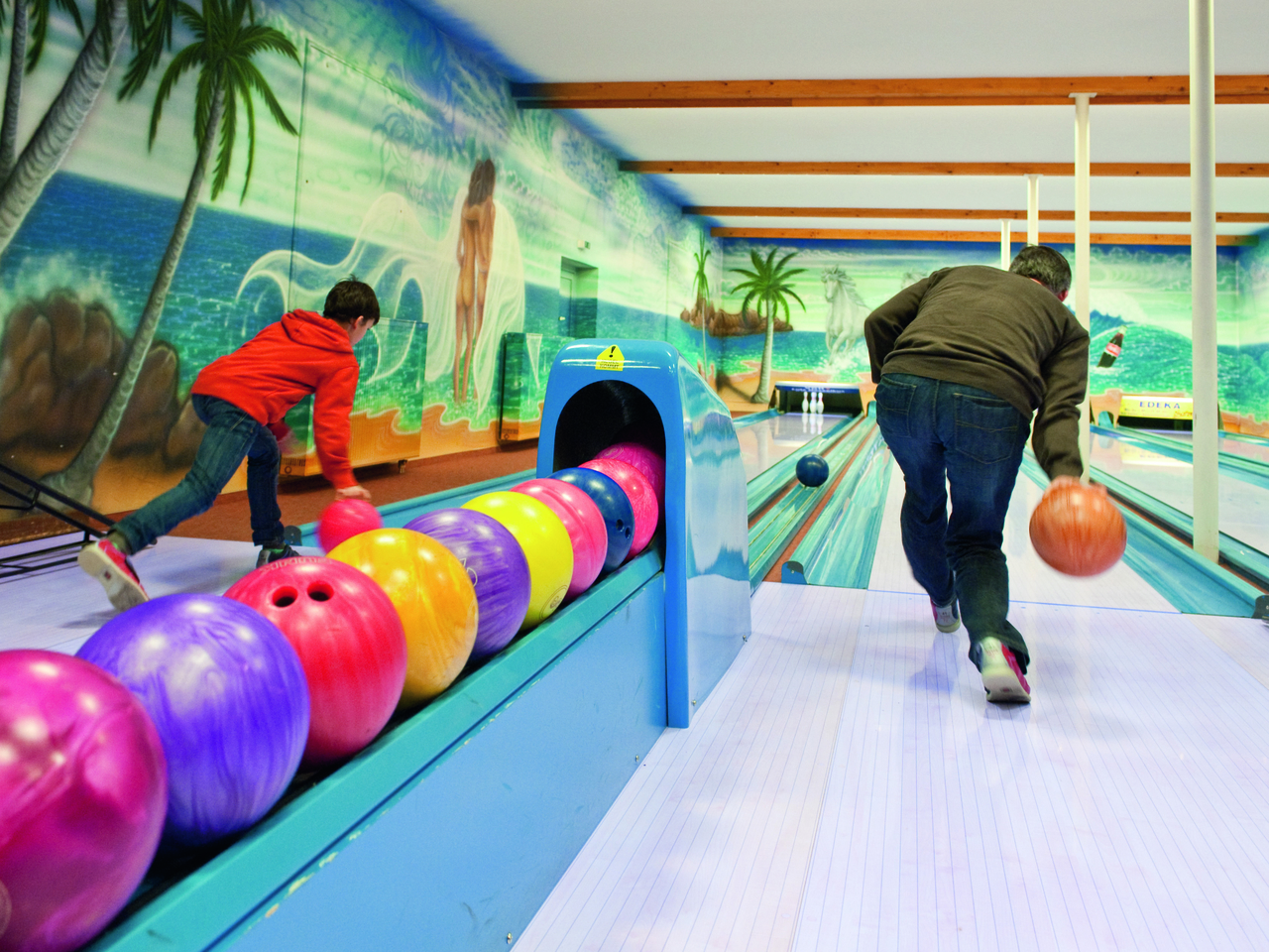 Landal Salztal Paradies in Bad Sachsa - Bowlingbahn