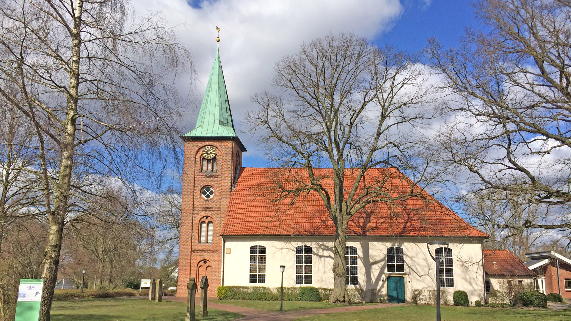 Die St.-Gallus-Kirche in Rhade