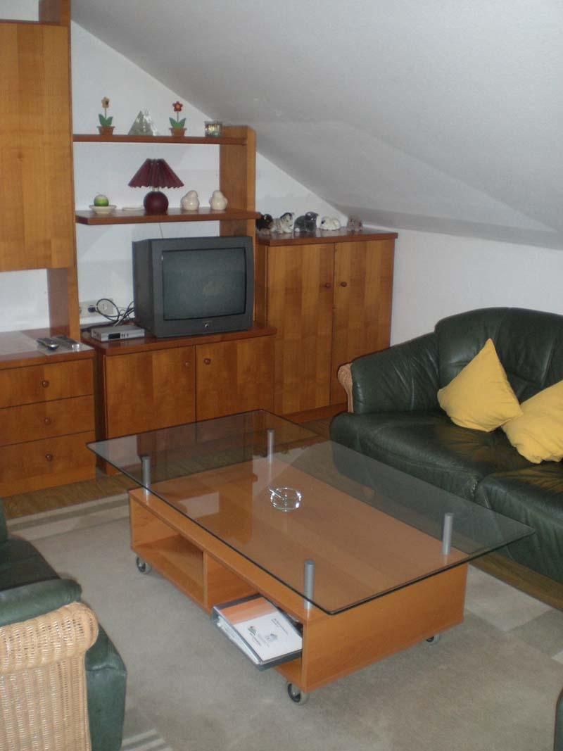 Wohnzimmer im Appartment Haus Tusche