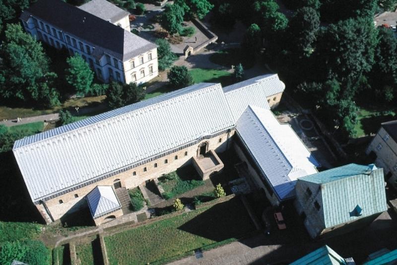 Kaiserpfalz Paderborn (Luftaufnahme)