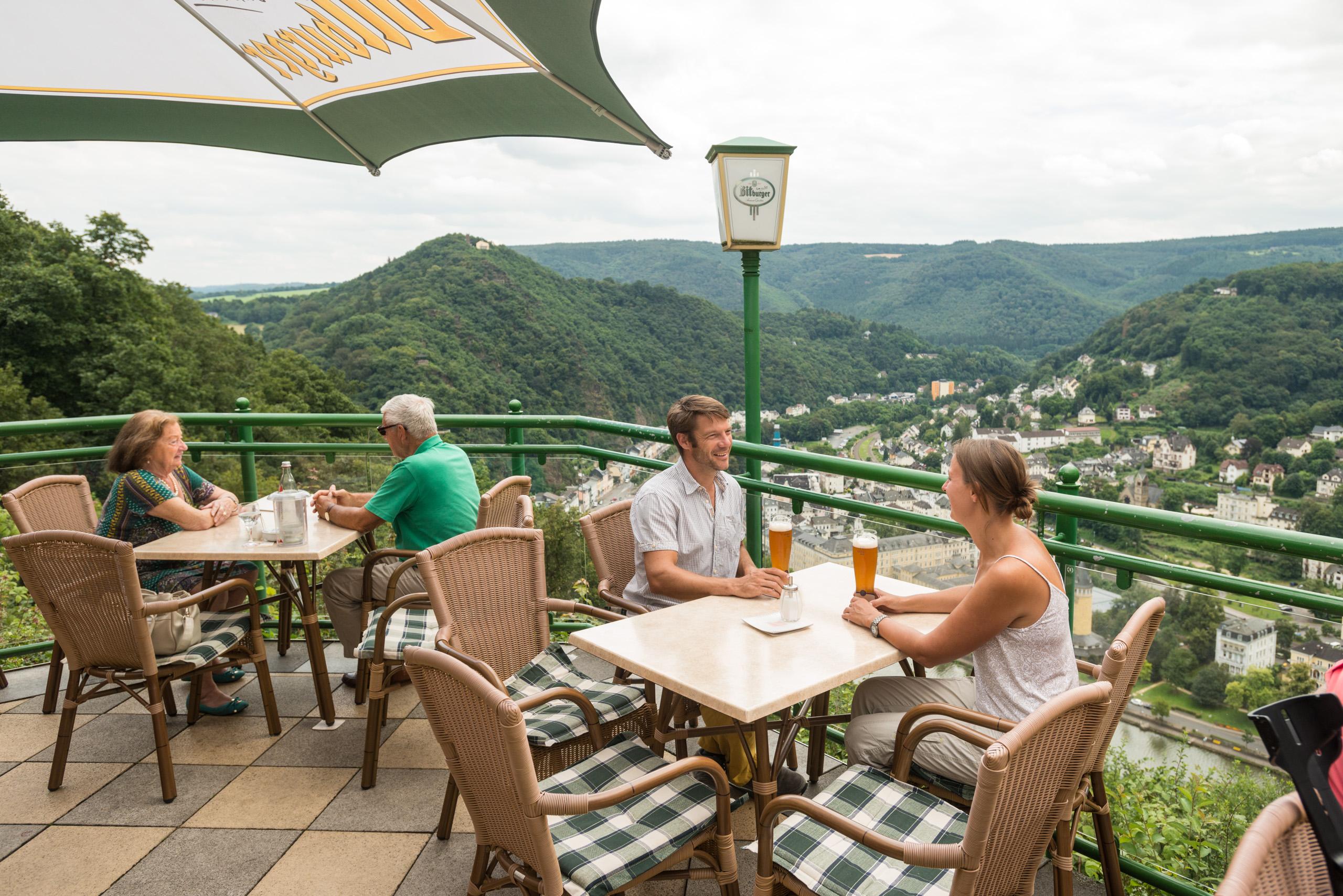 Im Panoramarestaurant