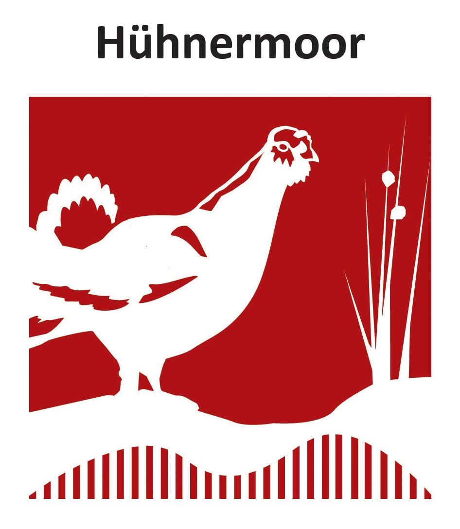 Hühnermoor Markierungszeichen - Logo