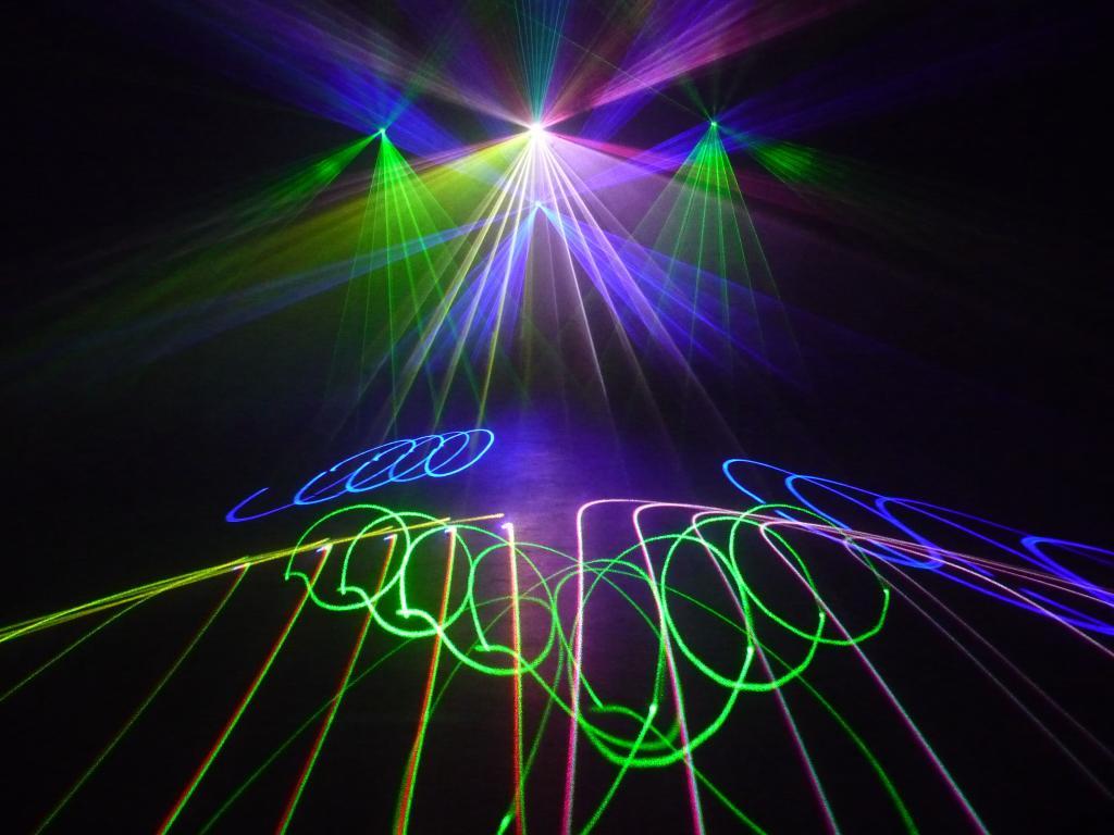 potts park: Lasershow