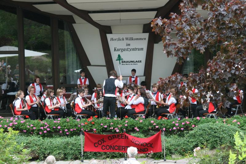 Konzert auf der Außenbühne