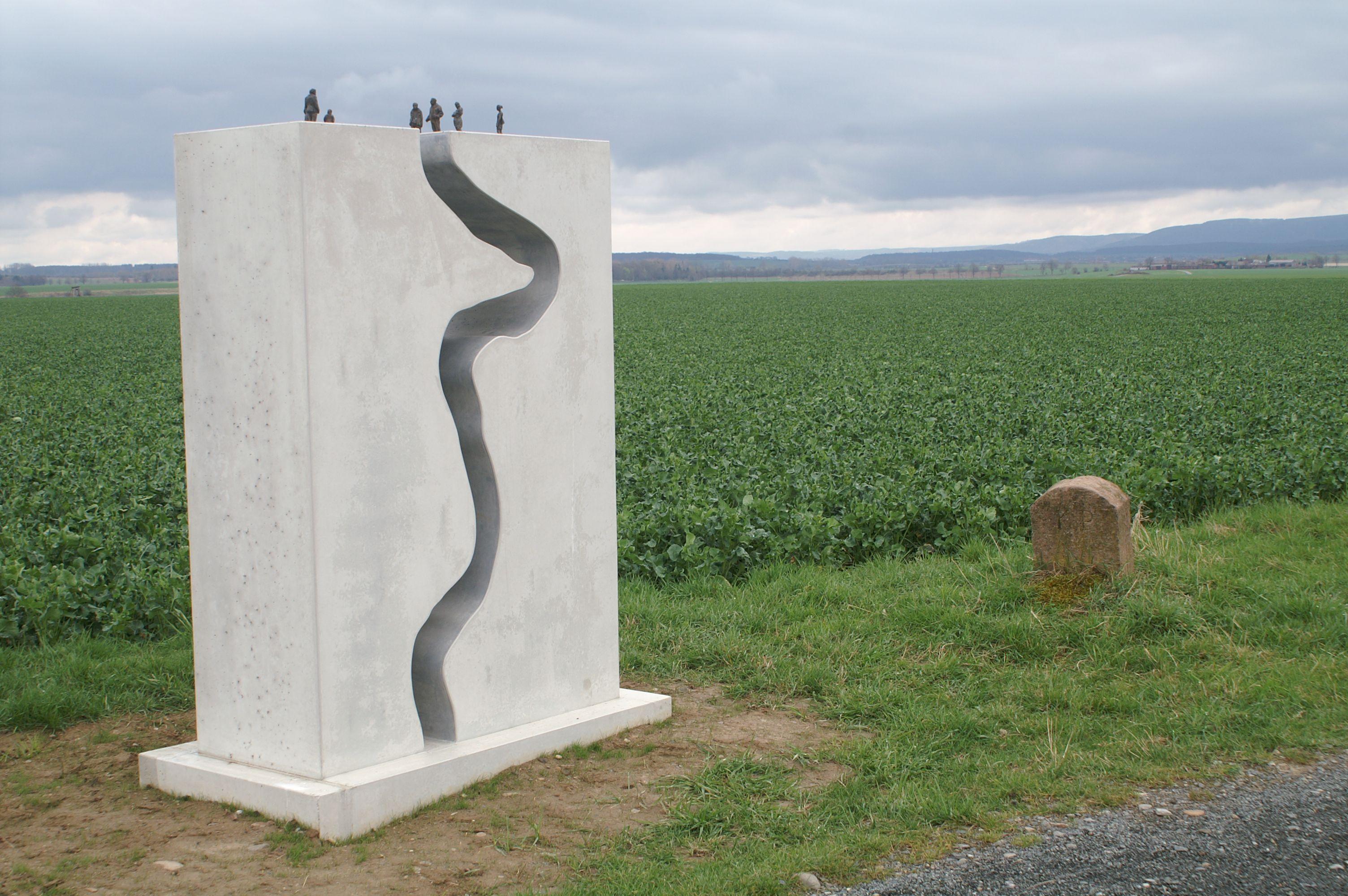 Grenzweg - Kunst am Grünen Band bei Stapelburg