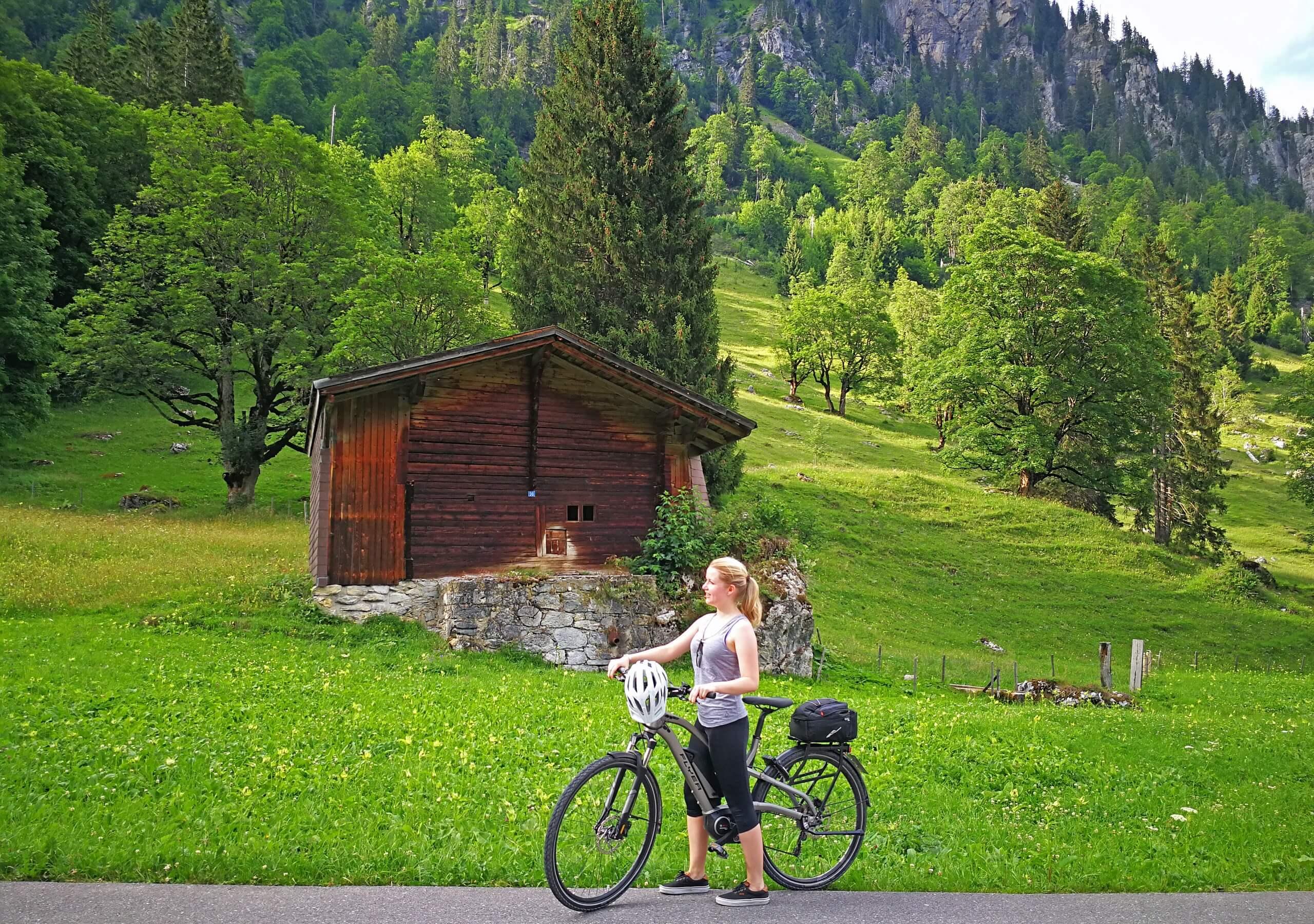 e-bike-diemtigtal-meniggrund-wald-sommer