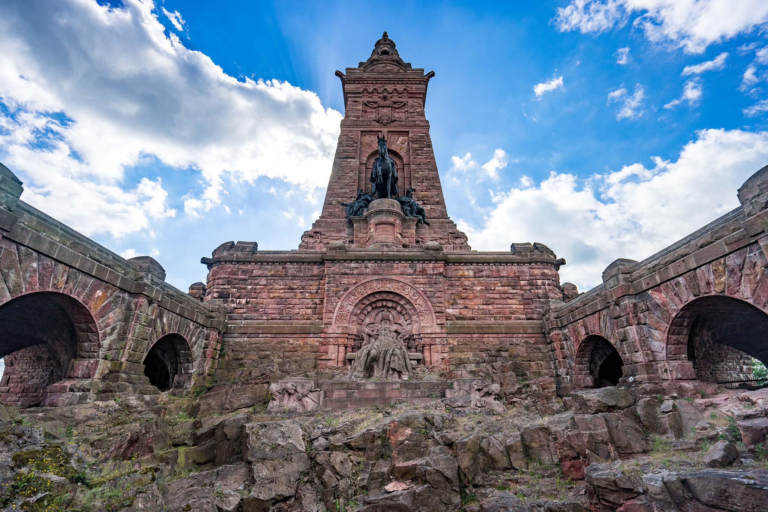 Kyffhäuser-Denkmal Statuen