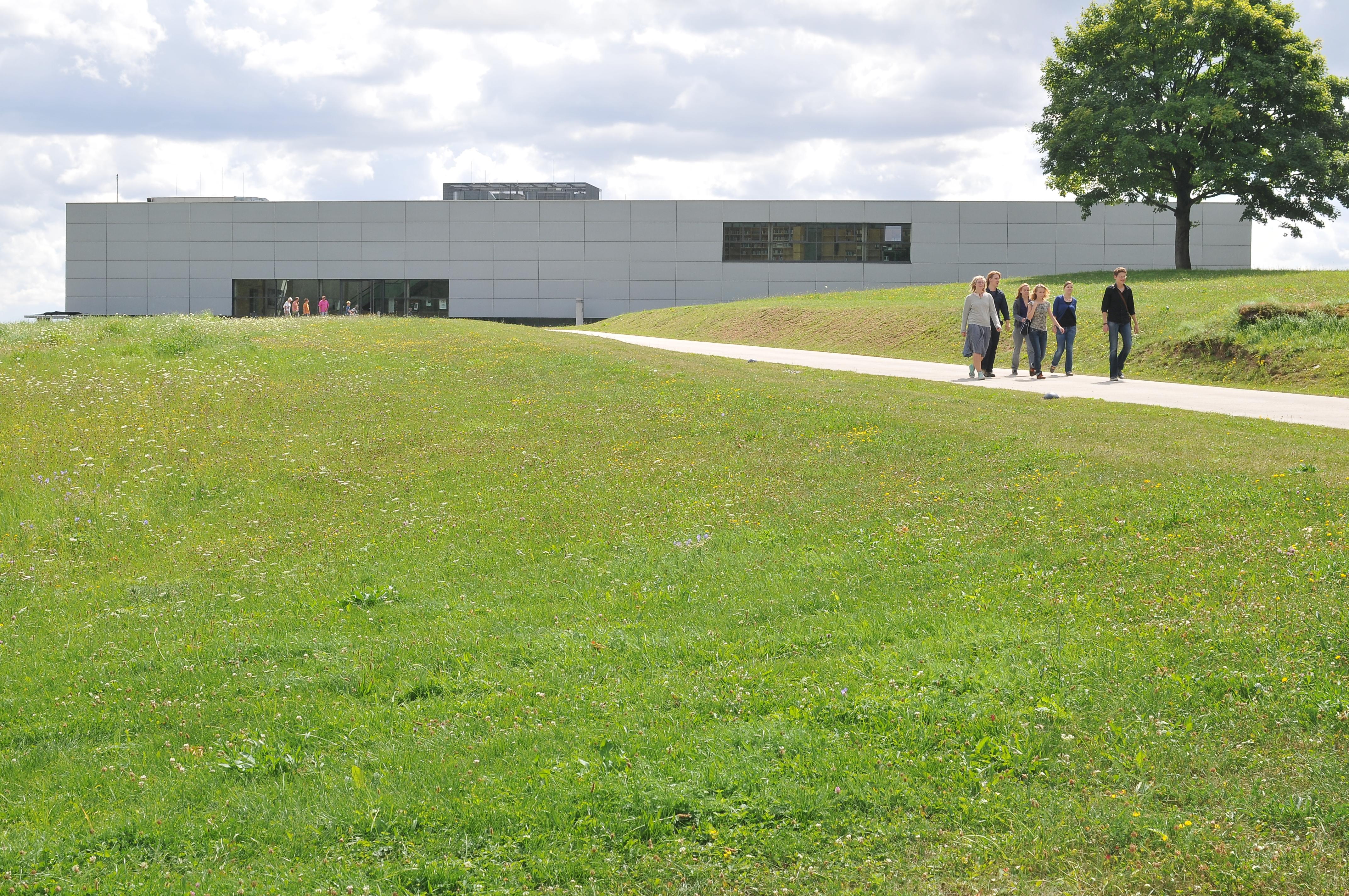 Museumsgebäude der KZ-Gedenkstätte Mittelbau-Dora