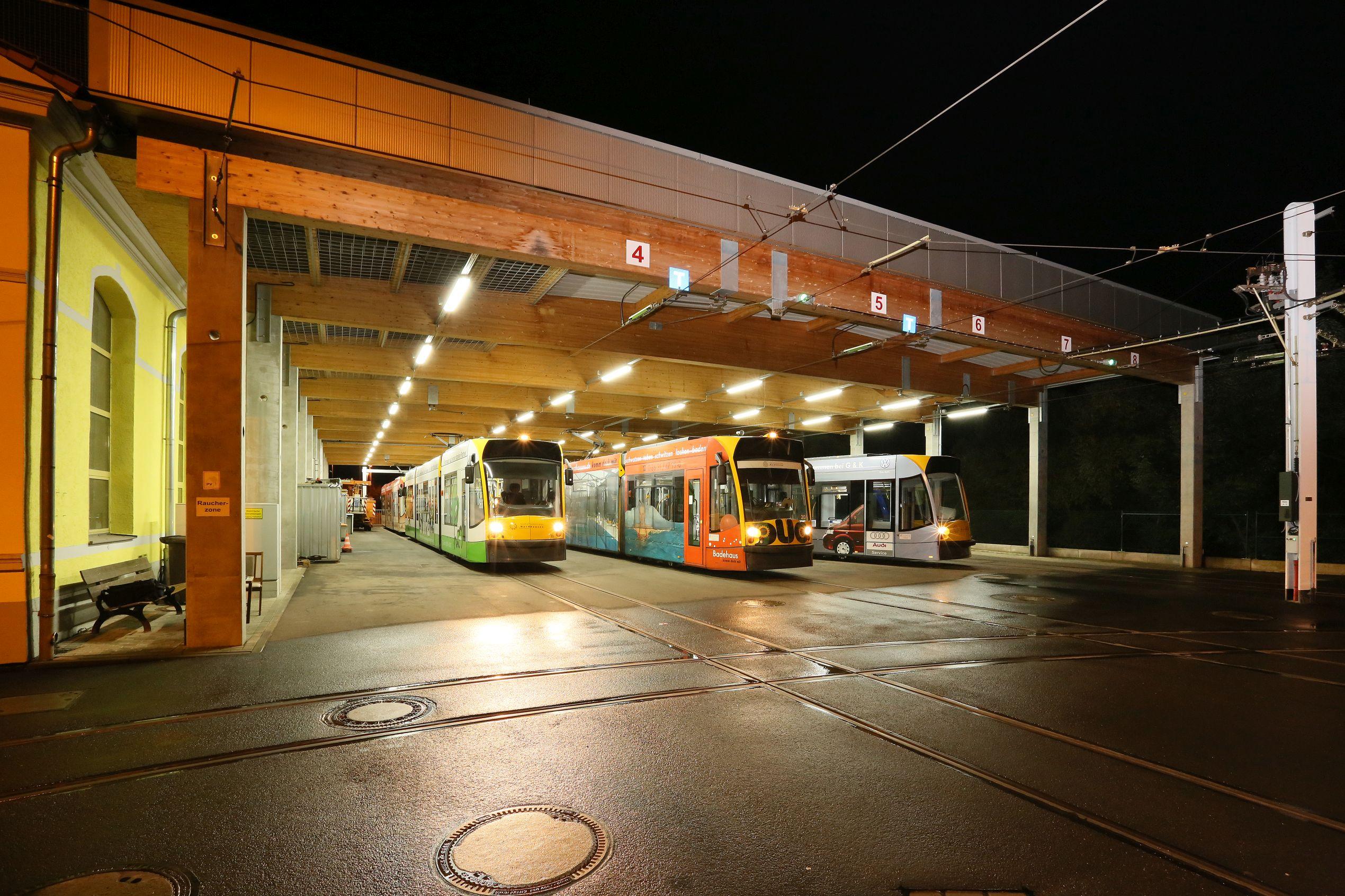 Straßenbahndepot Nordhausen
