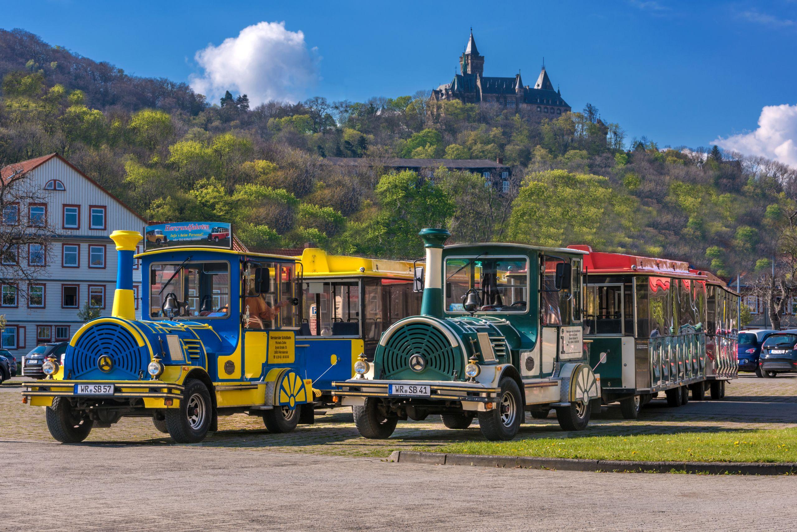 Wernigeröder Schlossbahnen - alte Bahnen