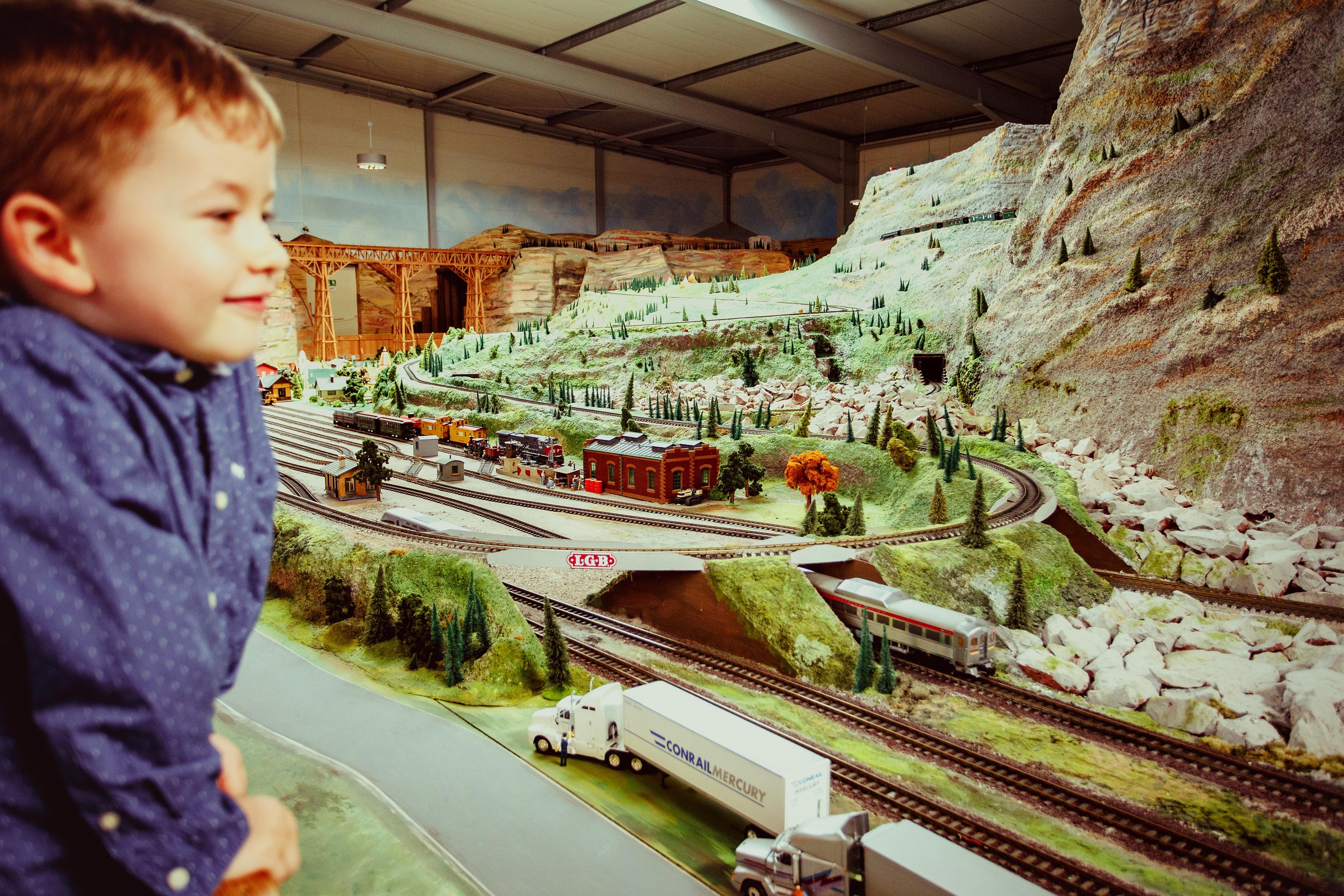Modellbahn Wiehe - USA Ausstellung