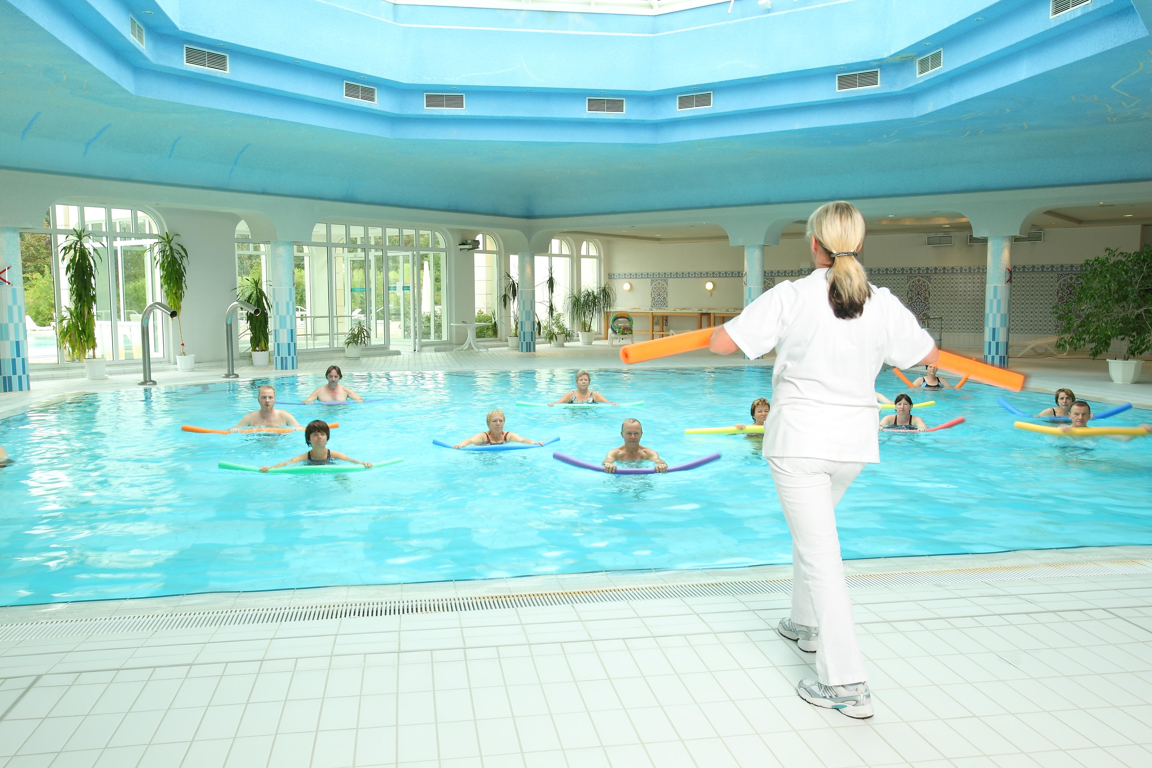 Schwimmbad Teufelsbad Fachklinik Blankenburg