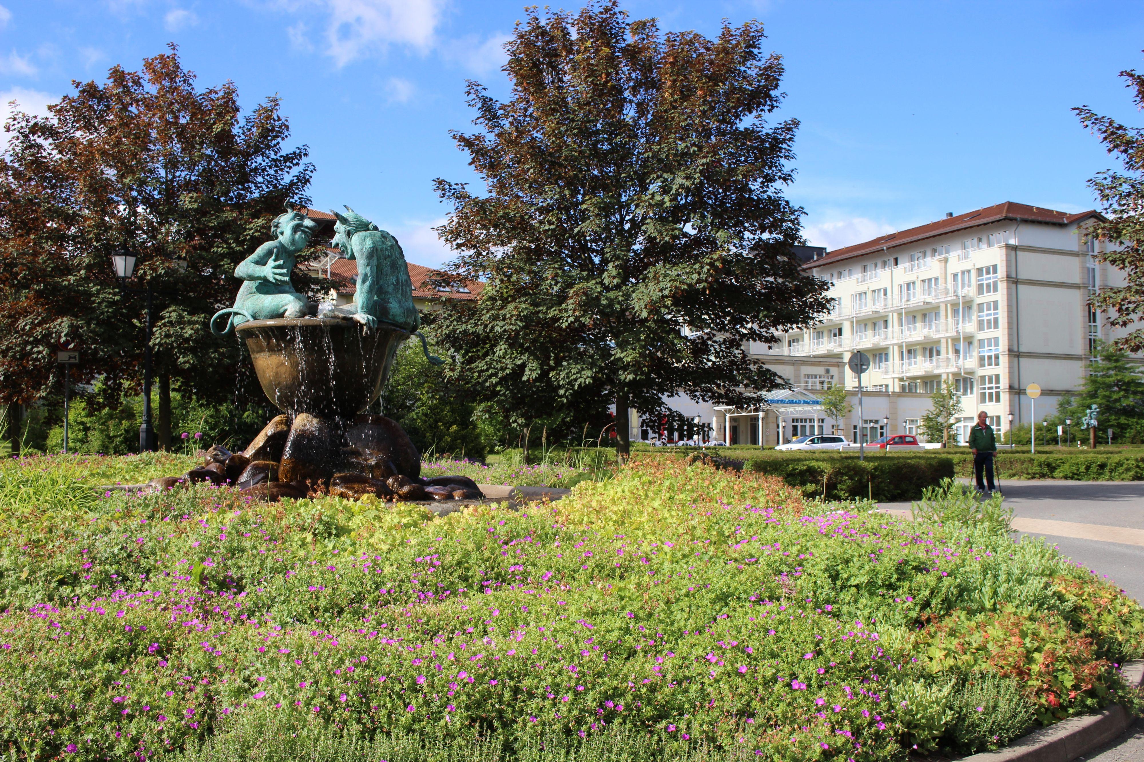 Außenansicht - Teufelsbad Fachklinik Blankenburg