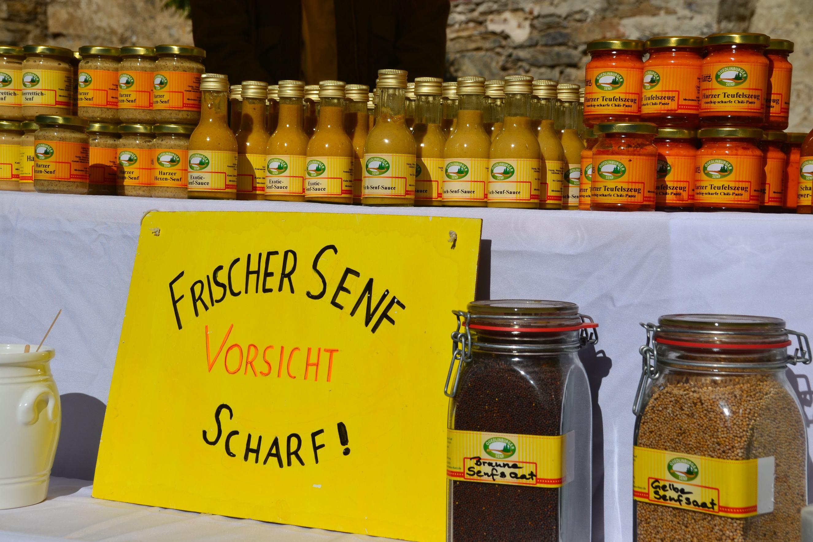 Quedlinburger Senf-Manufaktur - Typisch Harz-Markt