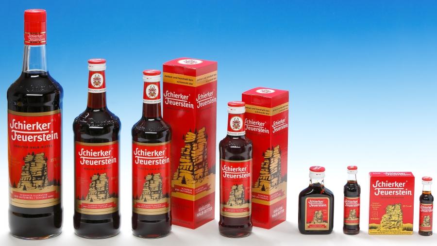 Schierker Feuerstein - Flaschengruppe