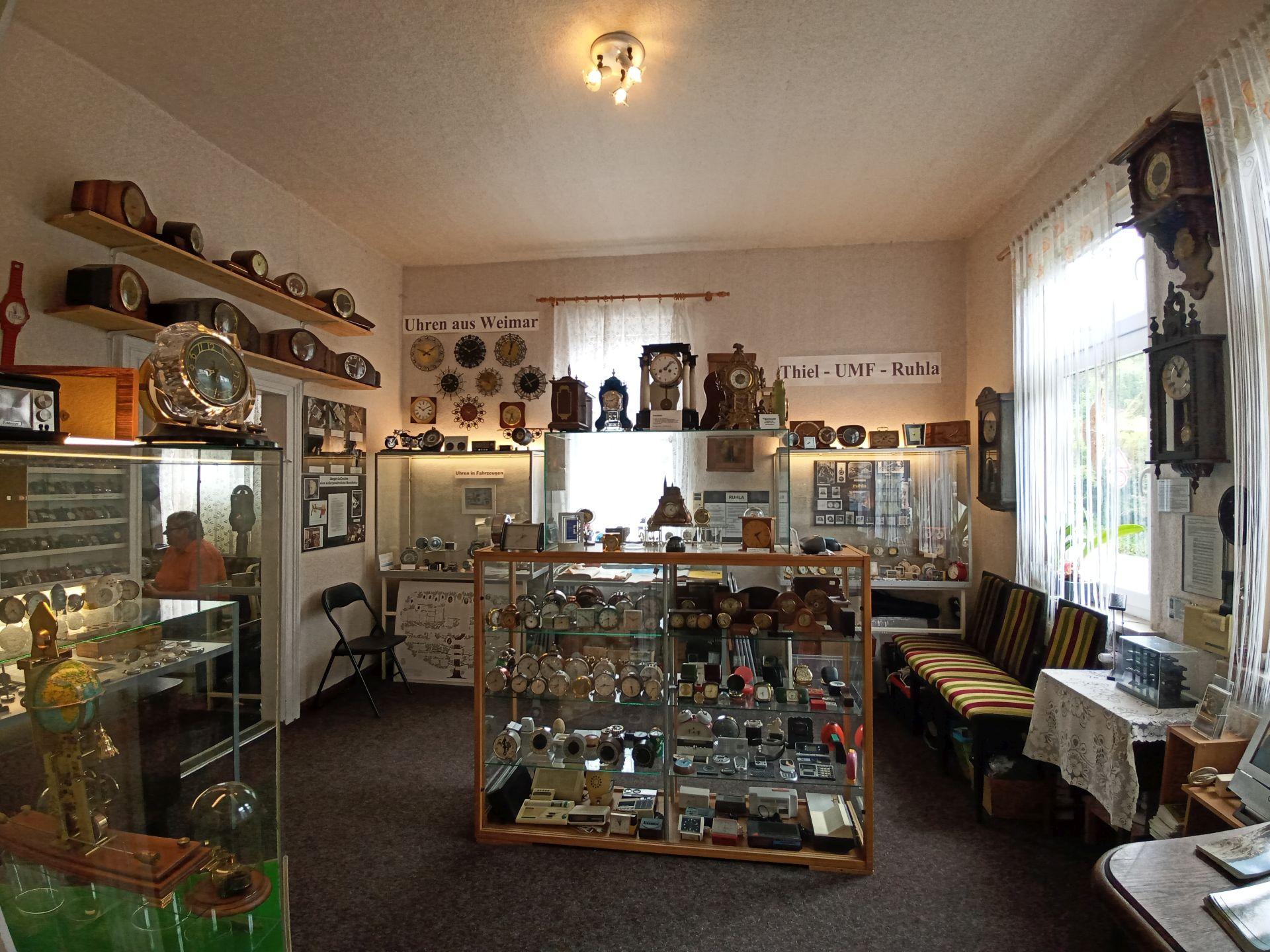 Raum 3 im Uhrenmuseum Treseburg