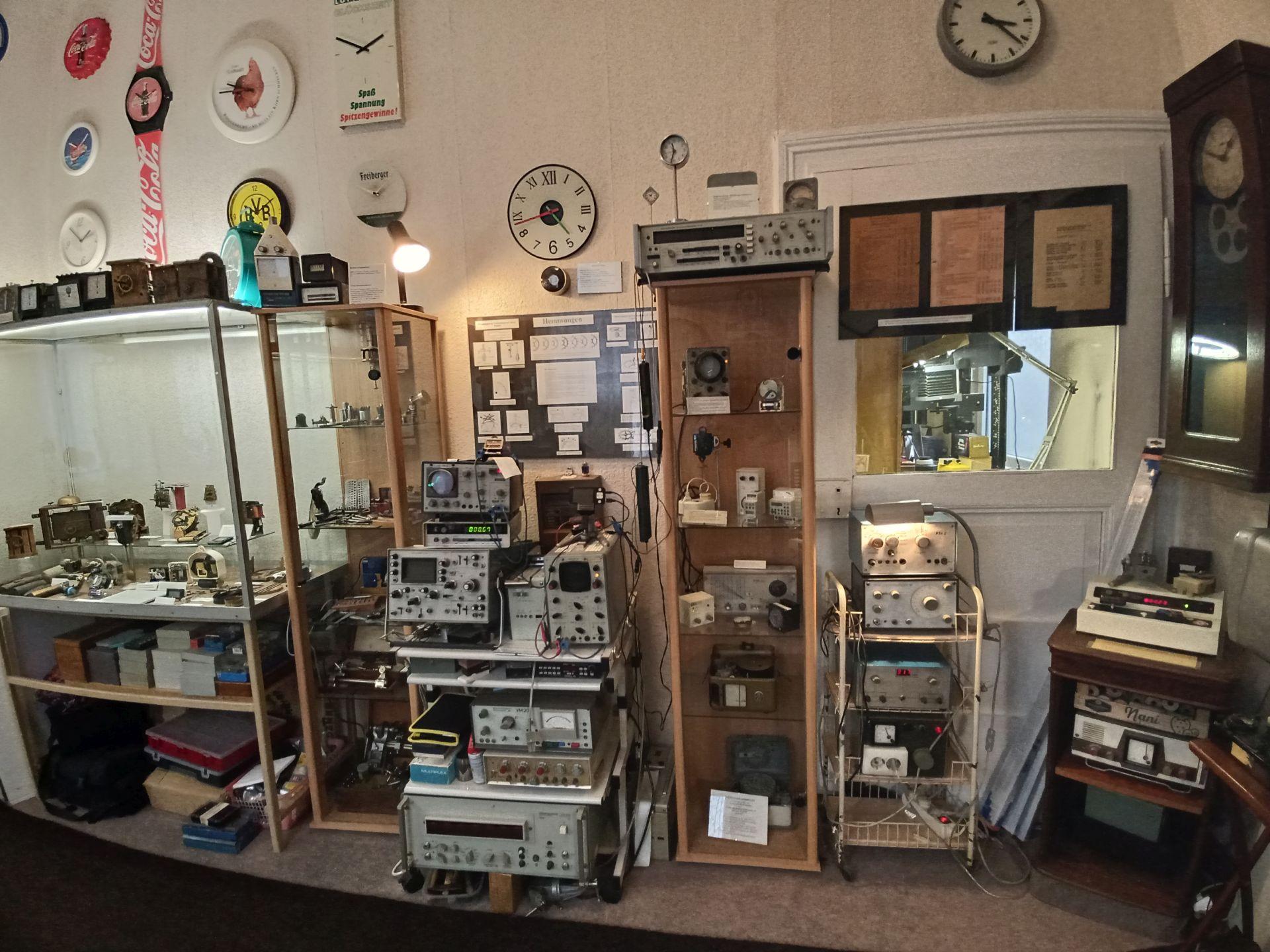 Raum 4 im Uhrenmuseum Tresebur