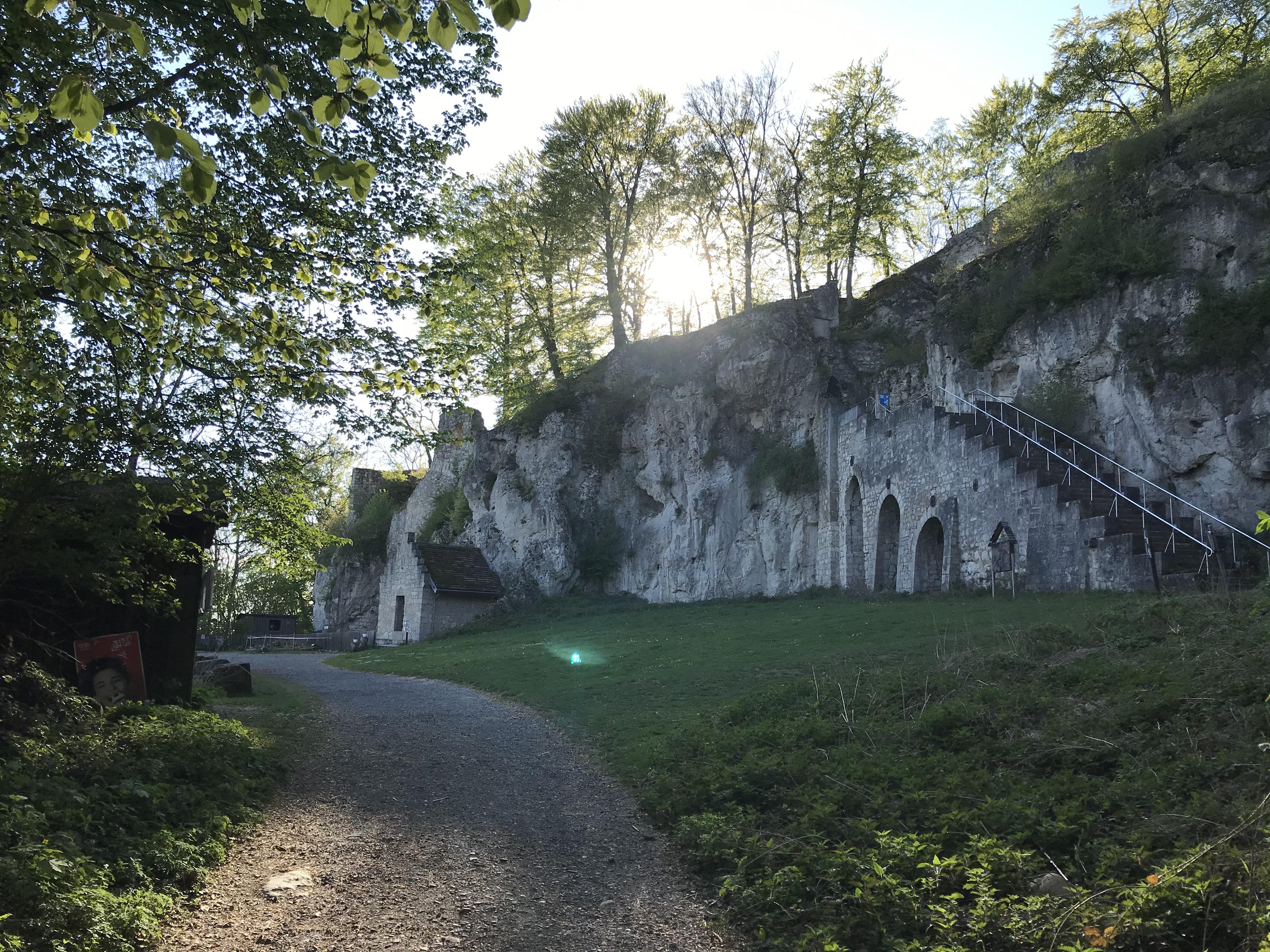 Ansicht Burgruine Scharzfels