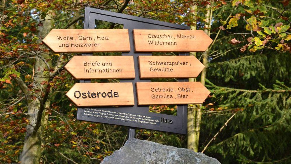 Harzer-Hexen-Stieg-Erlebnisinsel-Osterode-Wegweiser
