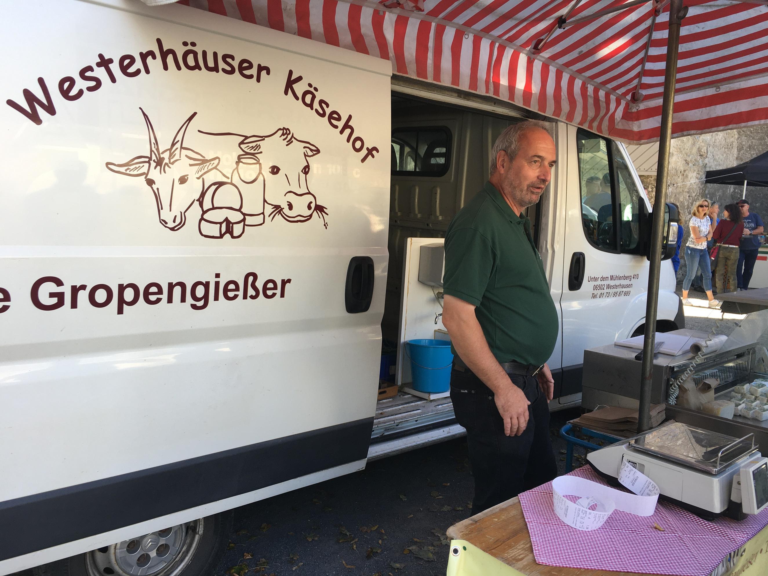 Westerhäuser Käsehof auf dem Typisch Harz-Markt