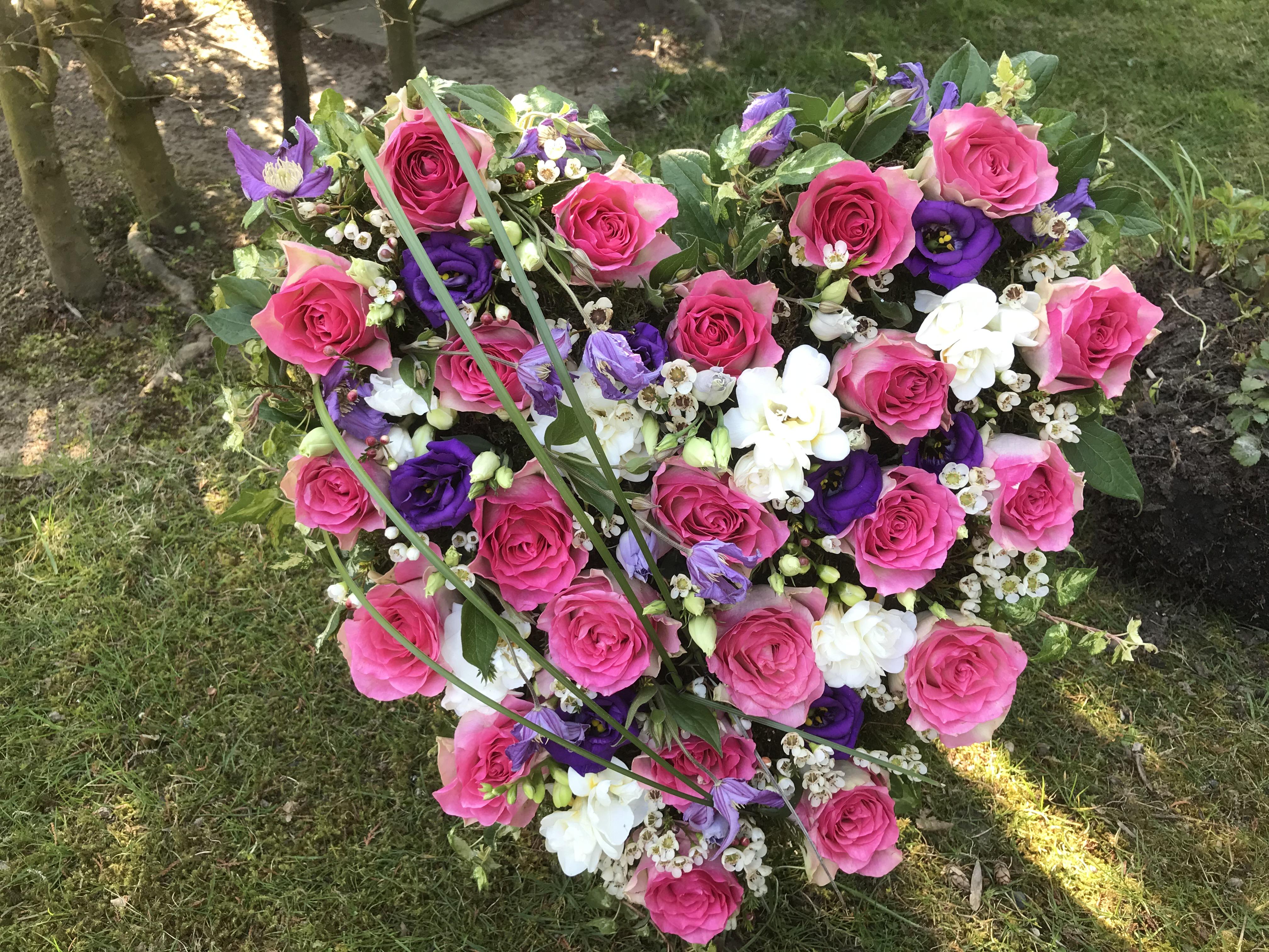 Blumen-Herz