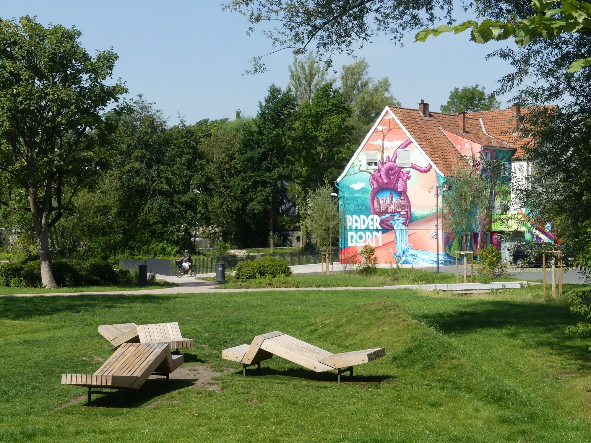 Paderborner Herzgraffiti im Mittleren Paderquellgebiet