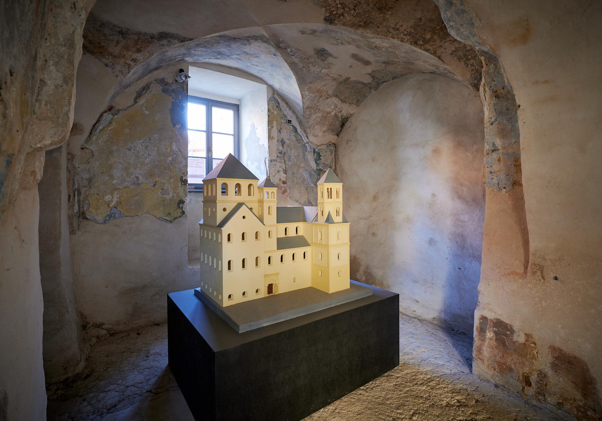 Muenzenbergmuseum Quedlinburg Kloster St. Marien