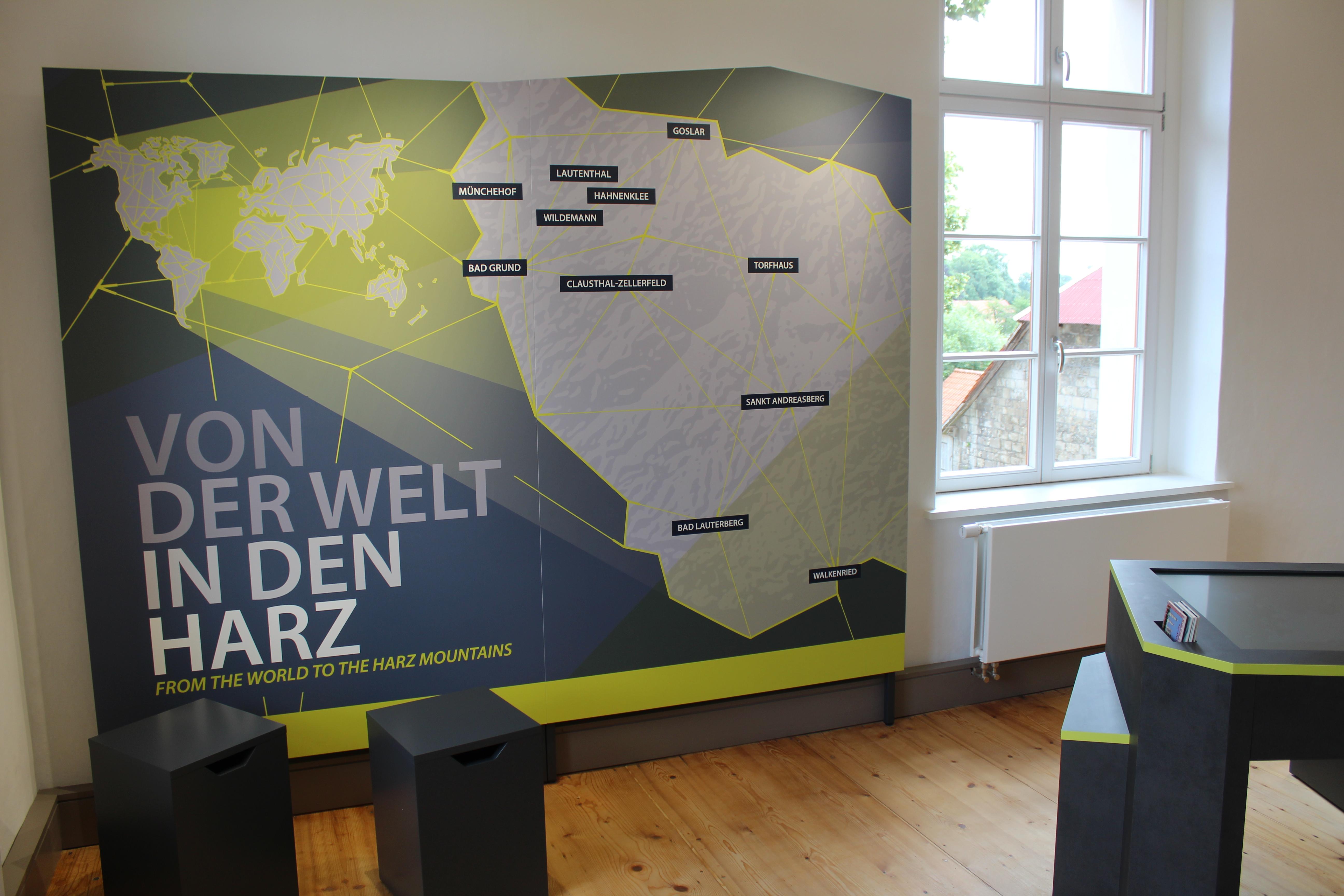 UNESCO Welterbeinfozentrum Walkenried - Innenaufnahme