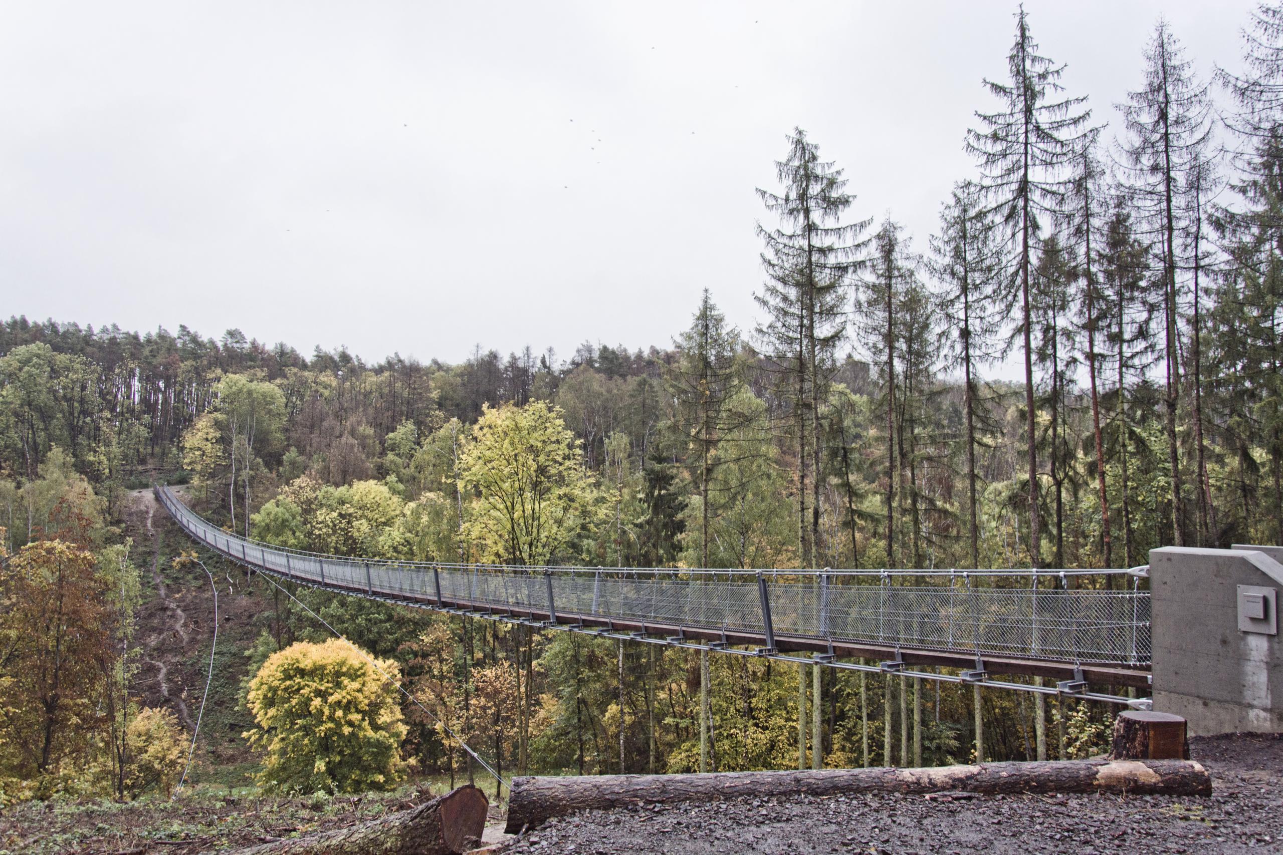 Hängeseilbrücke Bärental / Hohe Schrecke