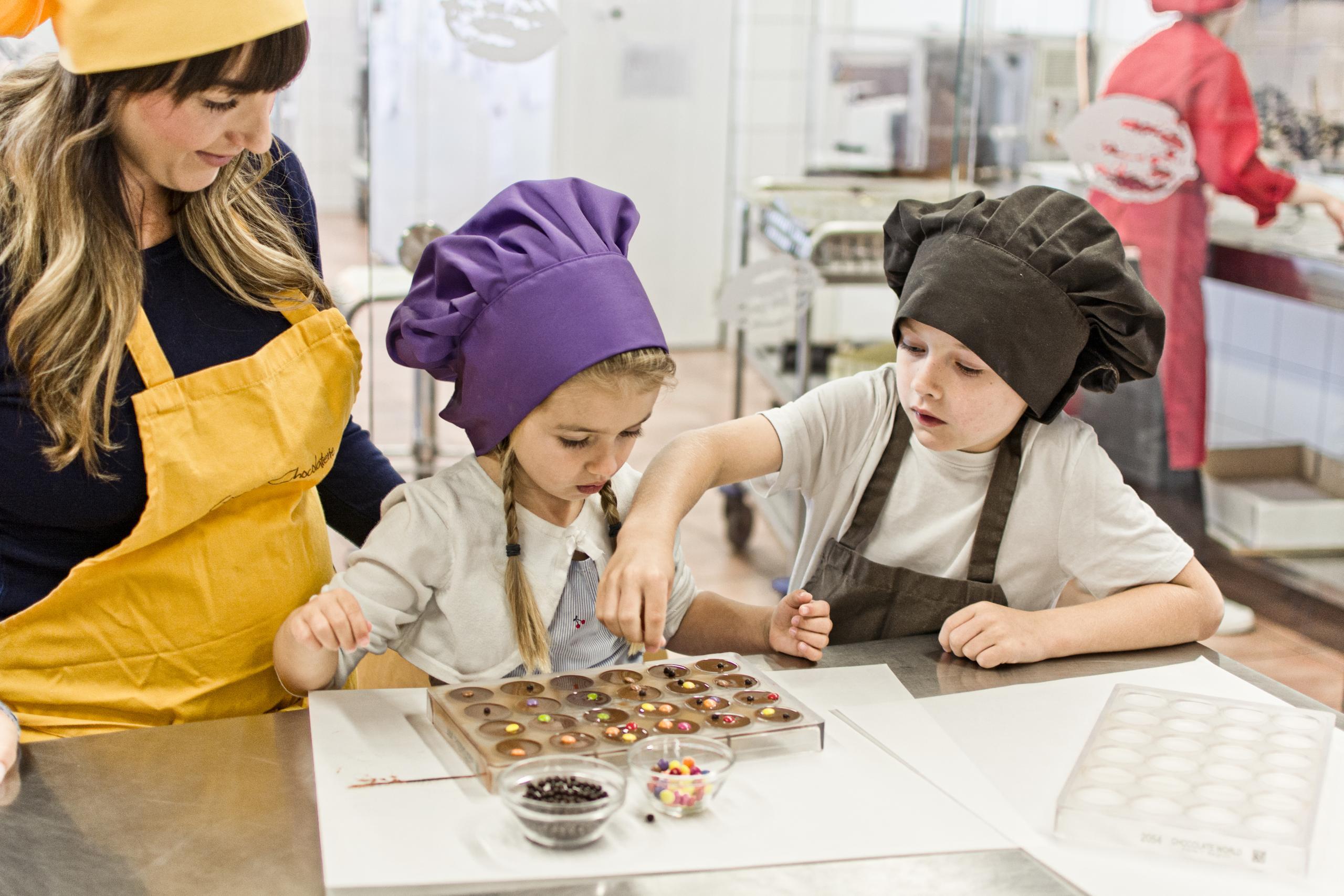 Eigene Schokolade herstellen in der Goethe Chocolaterie