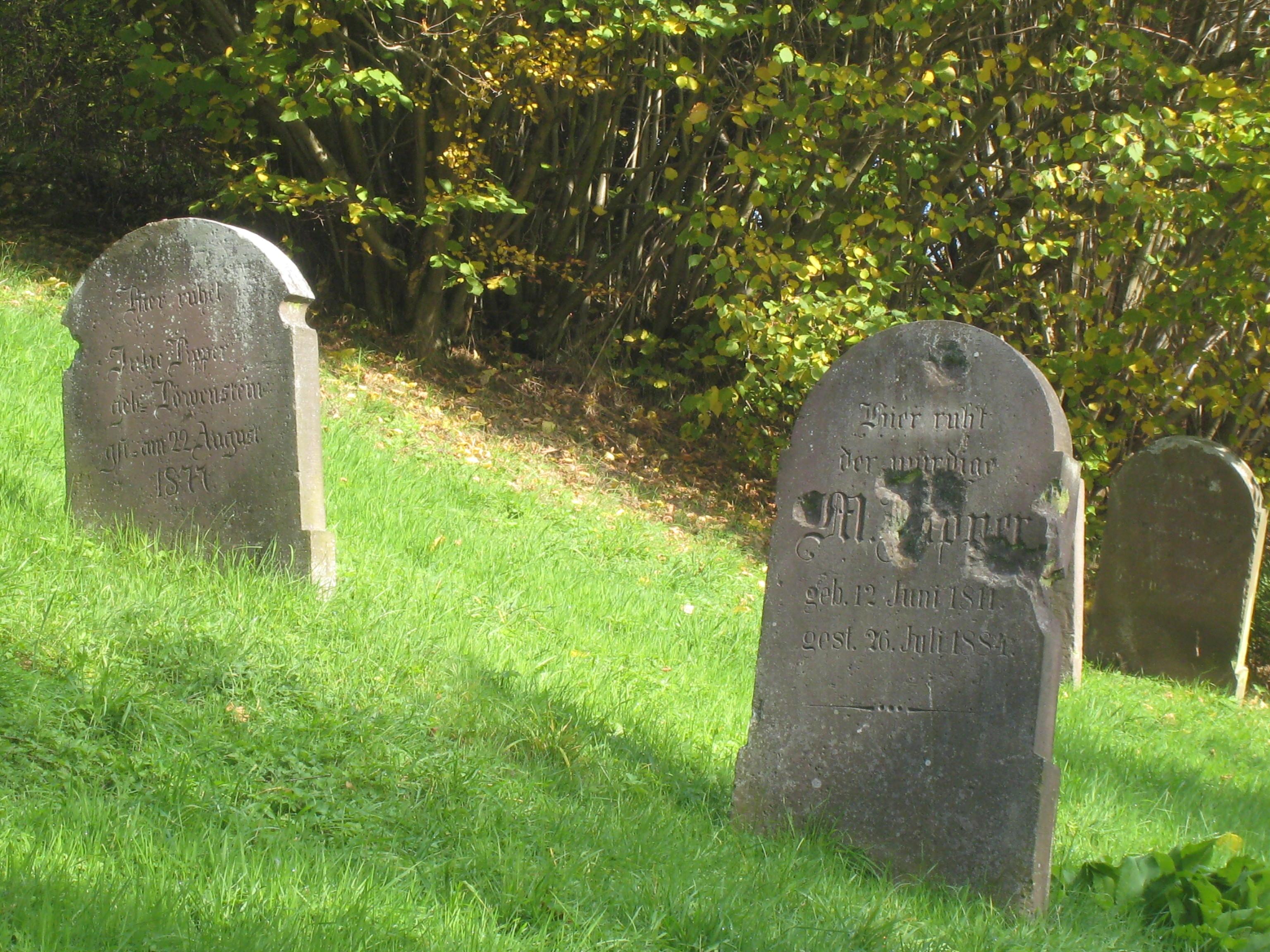 Ehemaliger jüdischer Friedhof