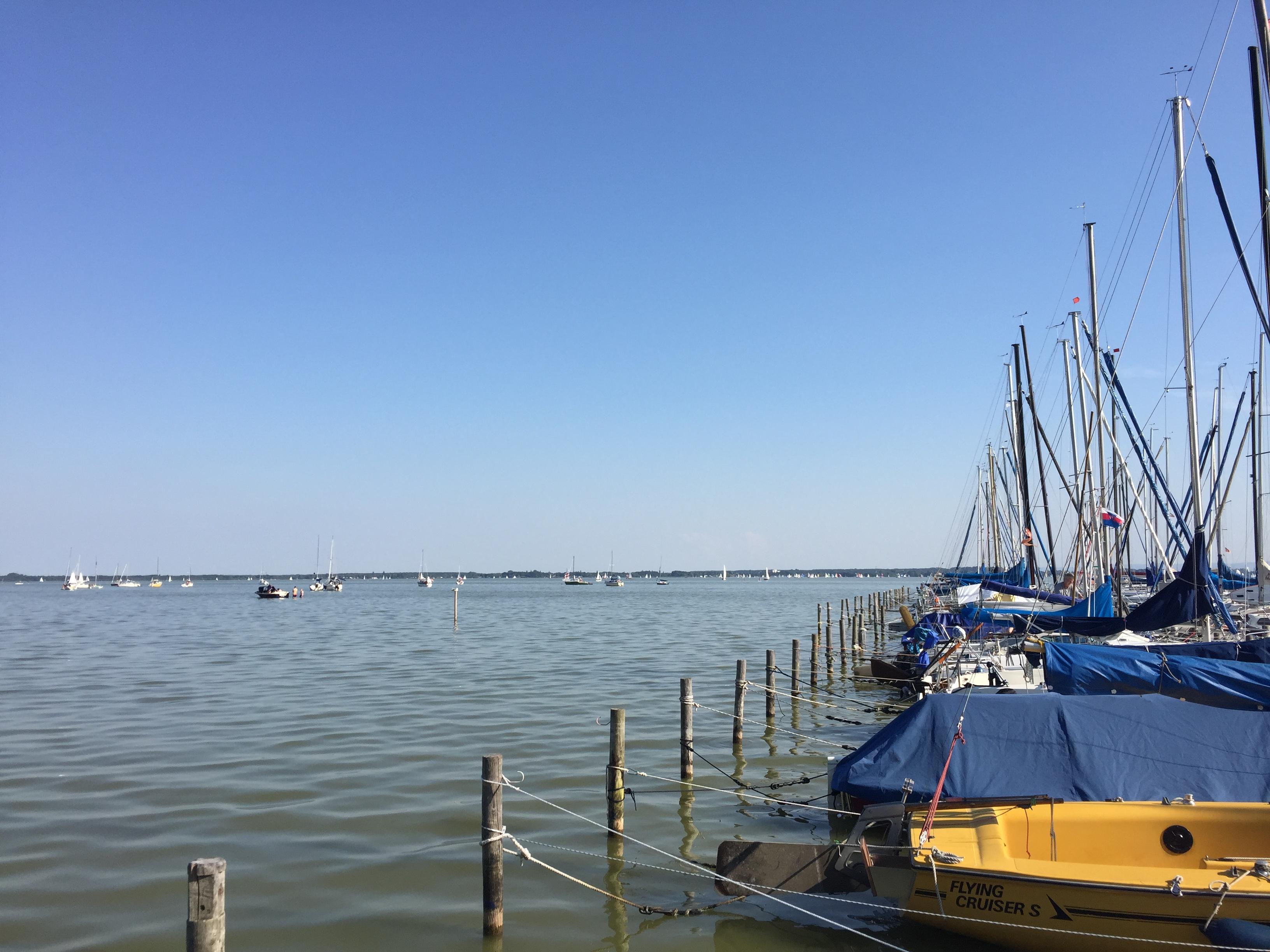 Boote auf dem Wasser