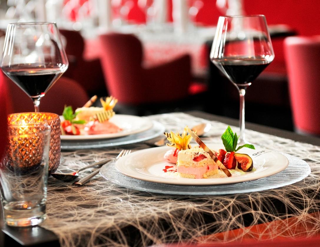 Dinner im Restaurant des GOP im Kaiserpalais Bad Oeynhausen