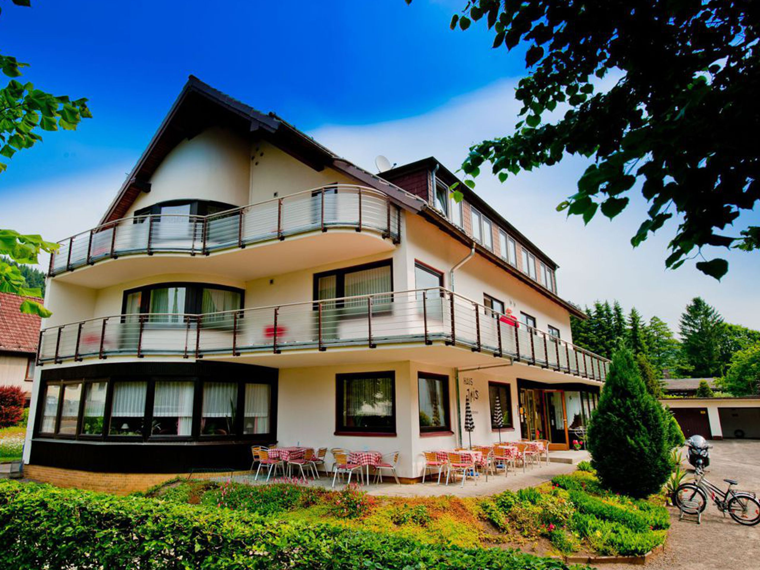 Haus Iris in Herzberg OT Lonau - Außenansicht