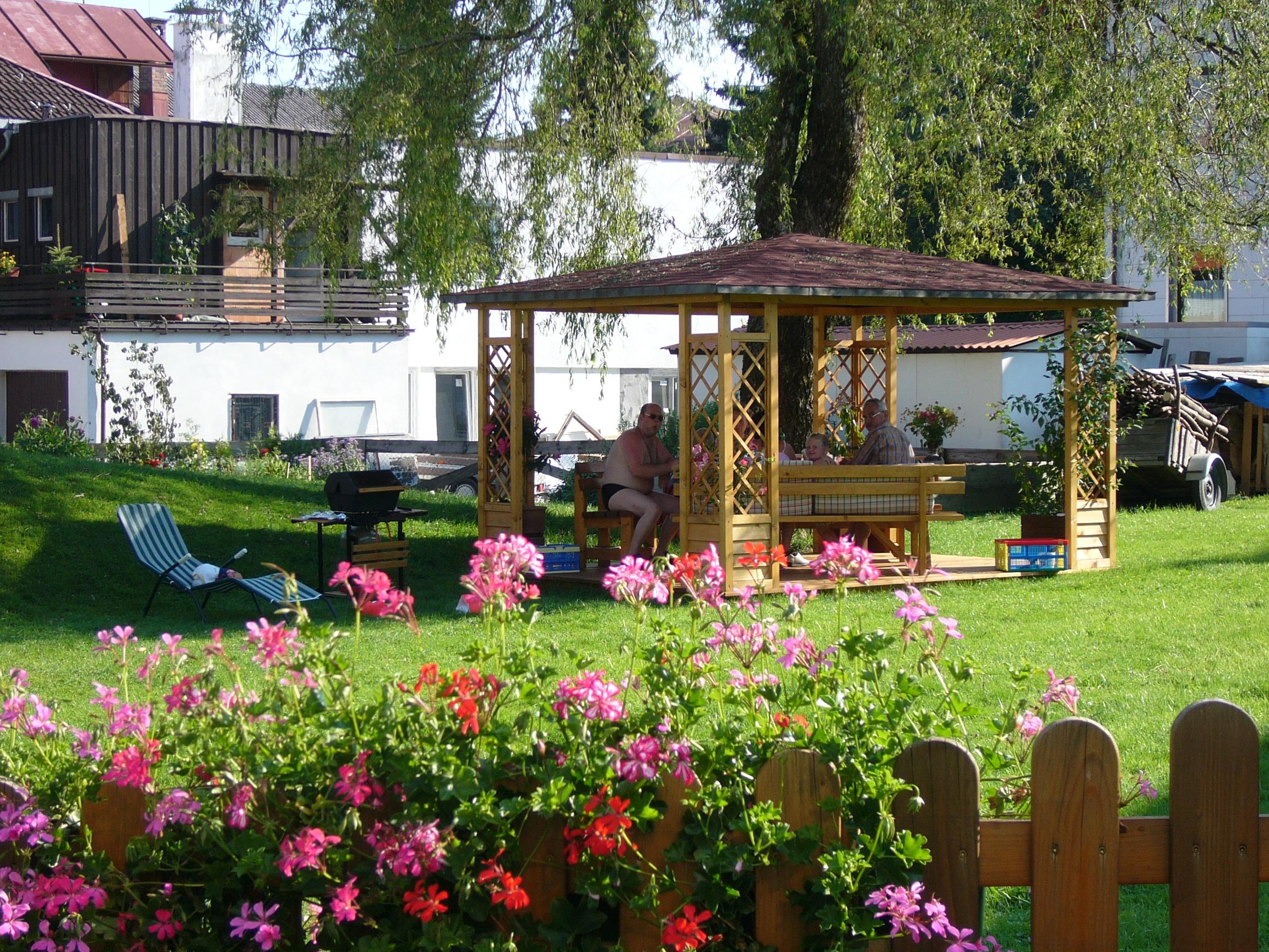 Ferienwohnung Rittler, Garten