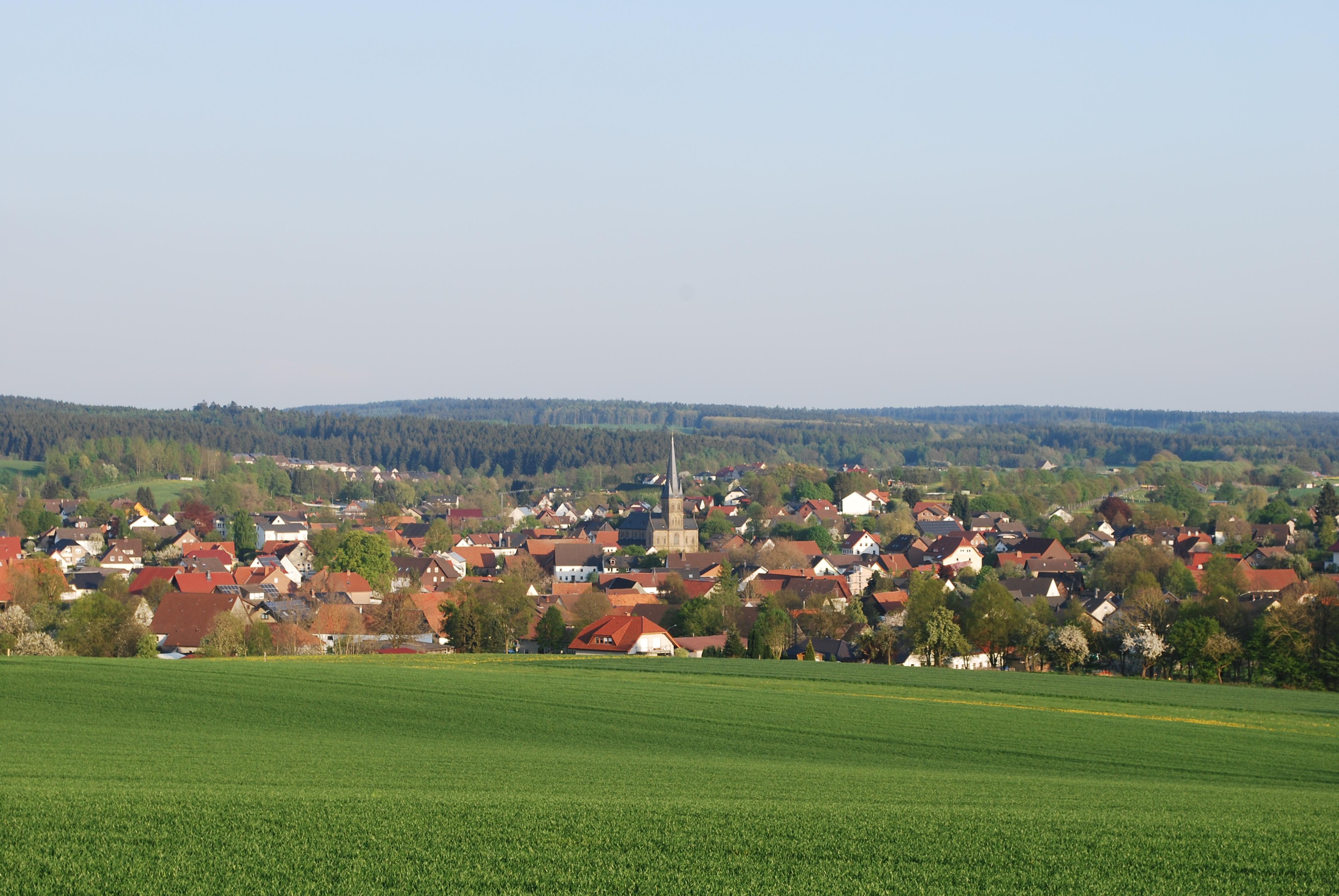 Blick vom Brocksberg
