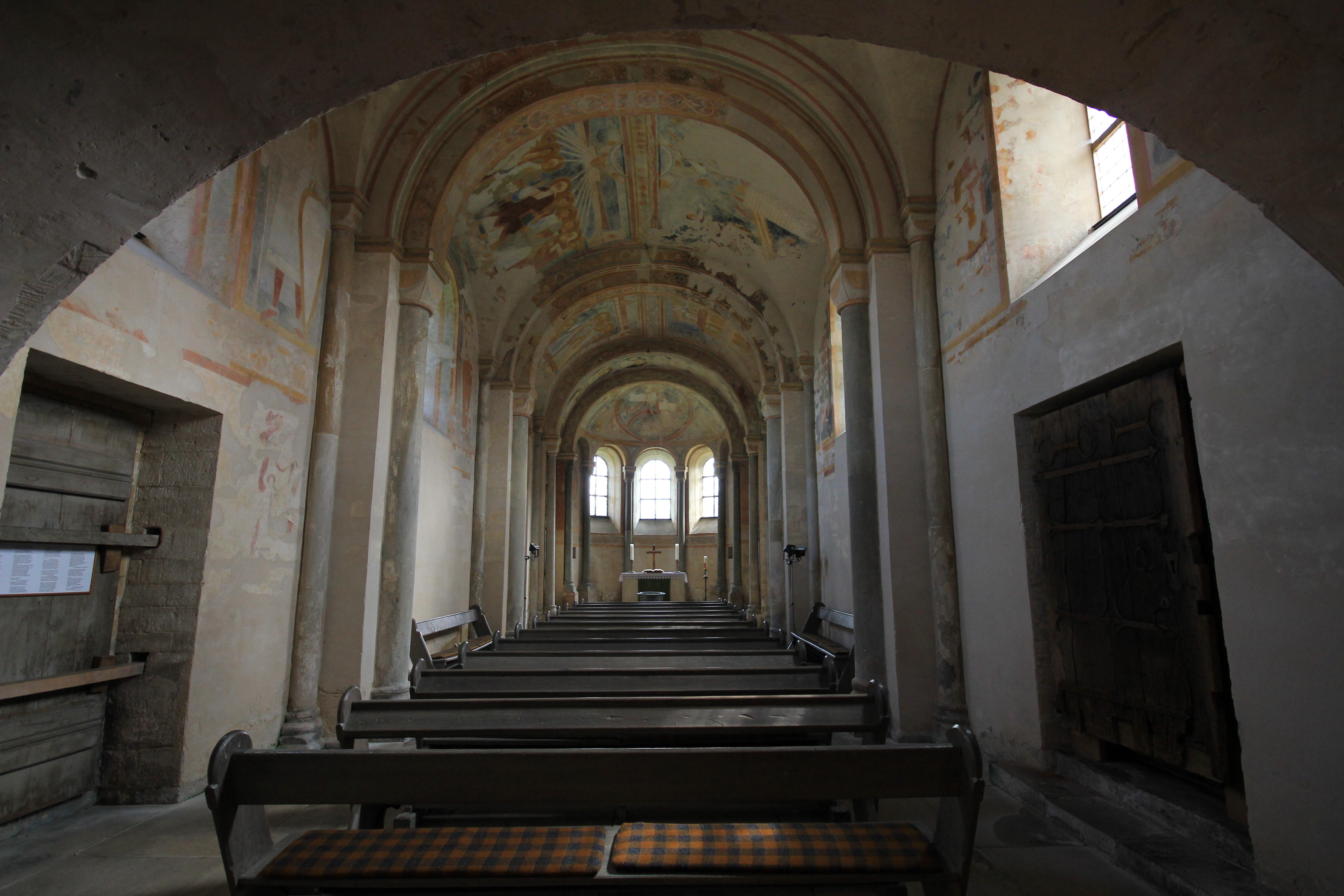 Innenraum Sigwardskirche