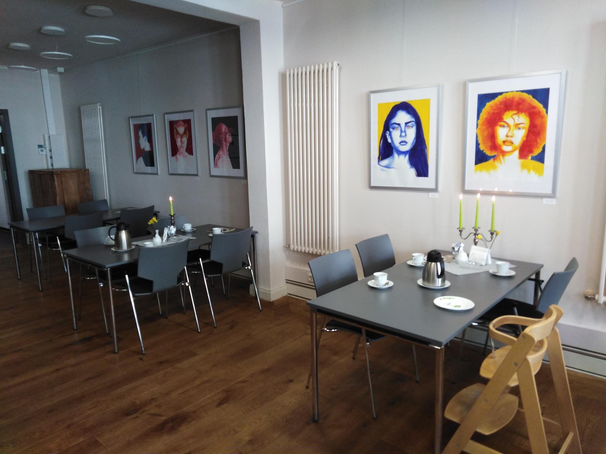Innenbereich Antik-Café Wittingen