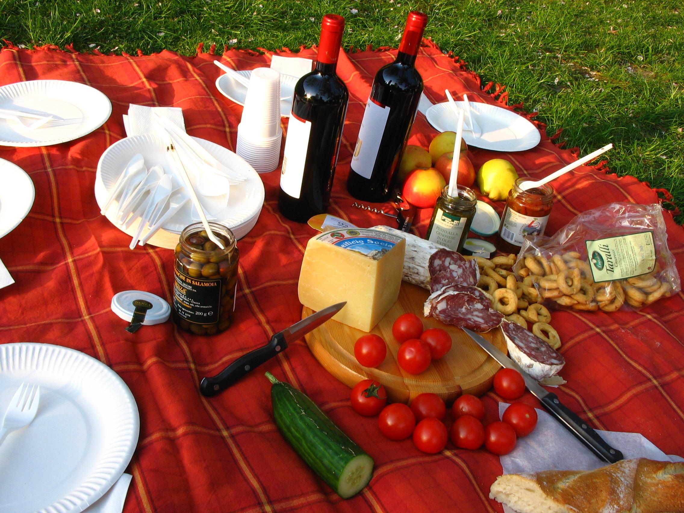 Kanutour Picknick