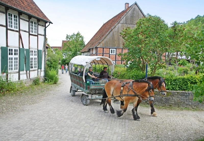 Pferdewagenfahrt