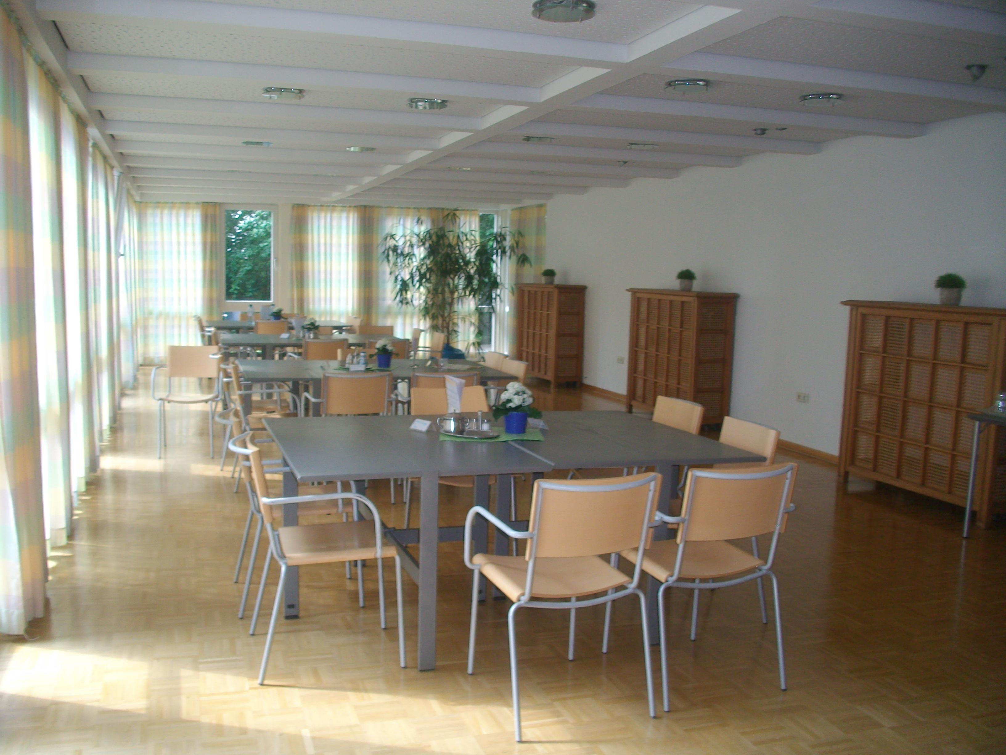 Mutter-Kind Kurhaus, Wintergarten