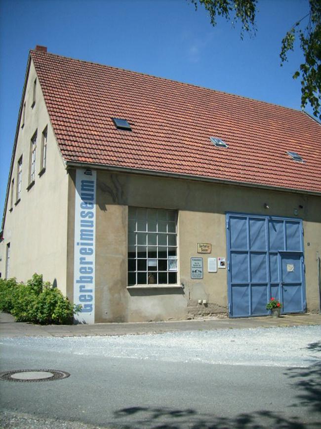 Außenansicht Gerbereimuseum Enger