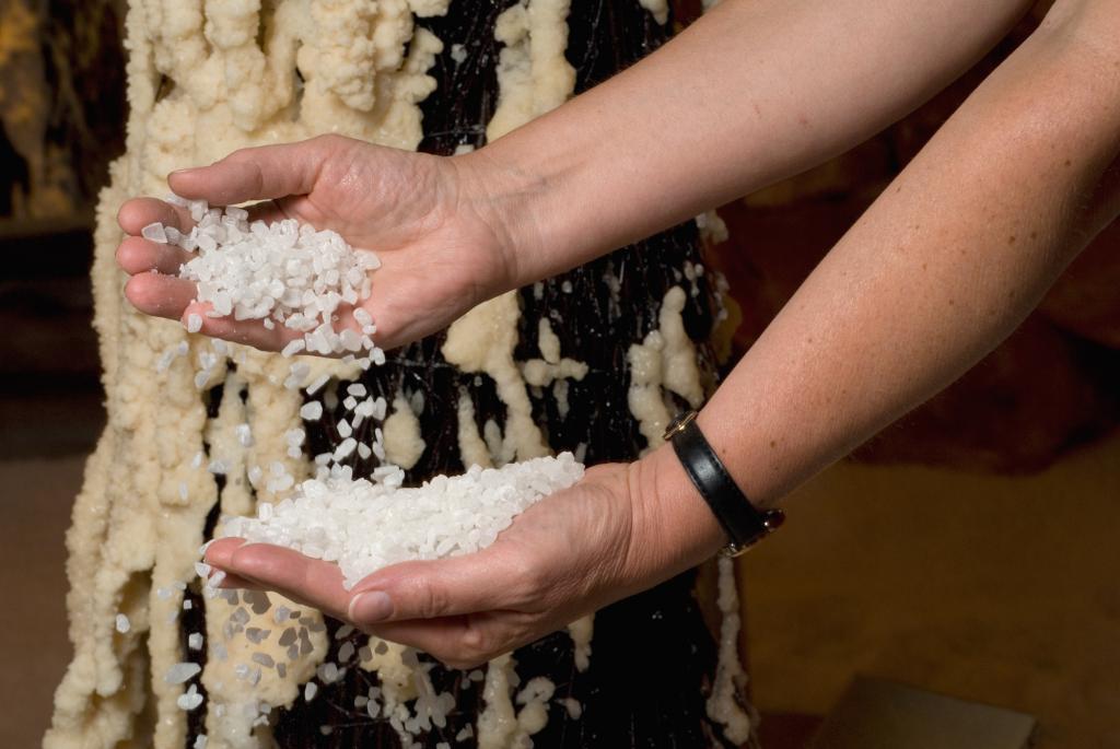 Salz aus der Salzgrotte