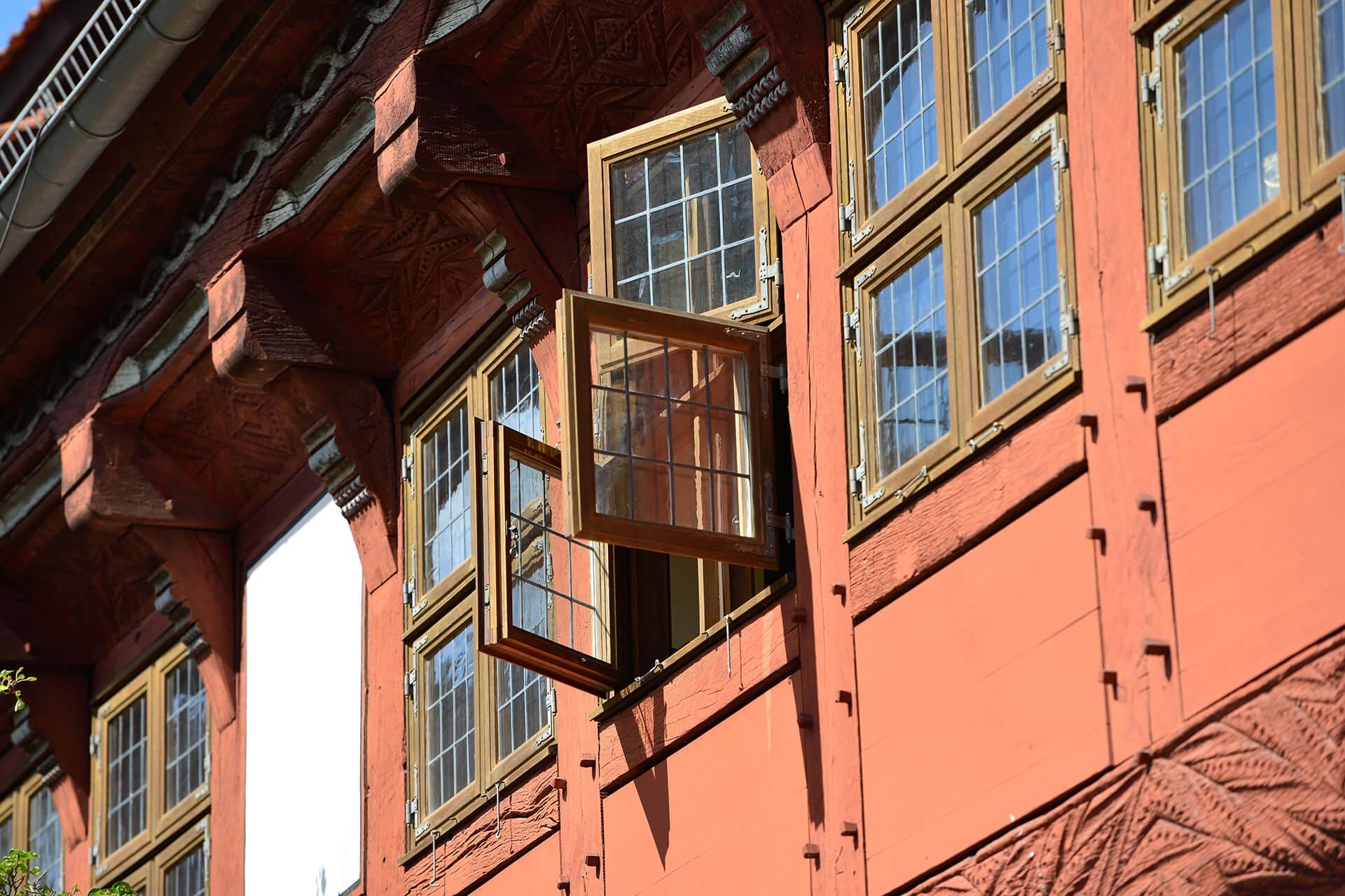 Fenster im Alten Rathaus