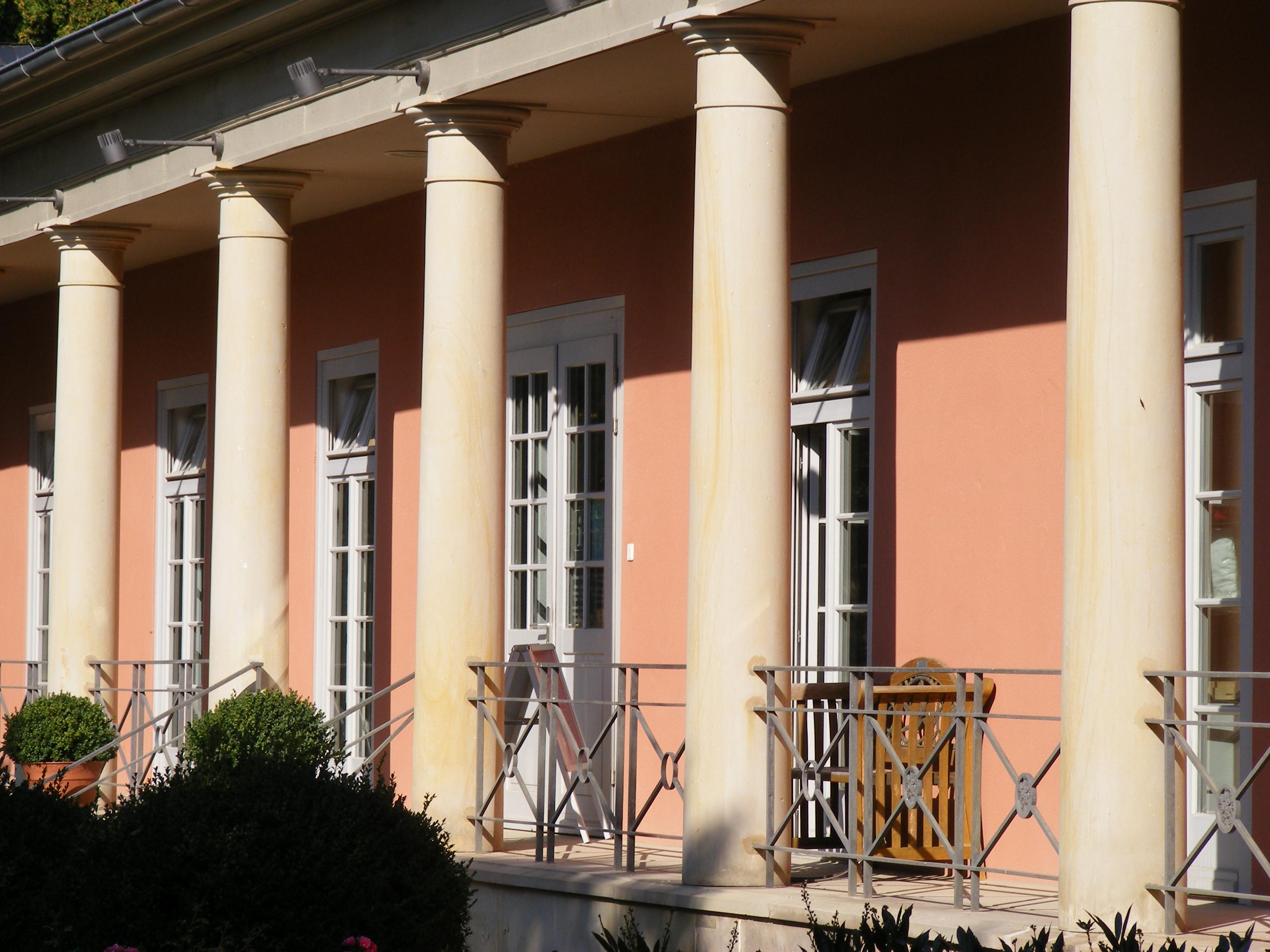 Wandelhalle Romantik Bad Rehburg